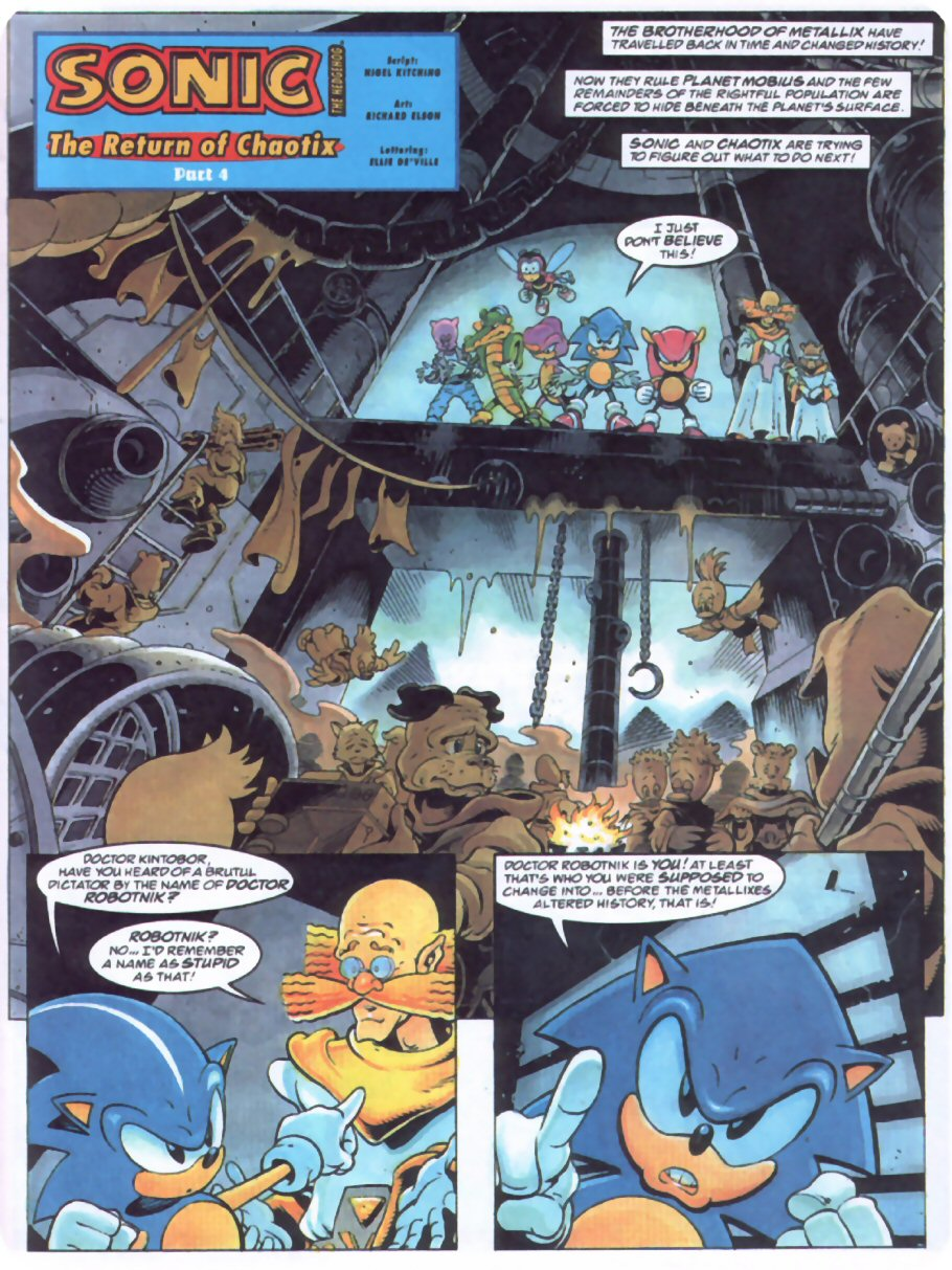 Read online Sonic the Comic comic -  Issue #70 - 3