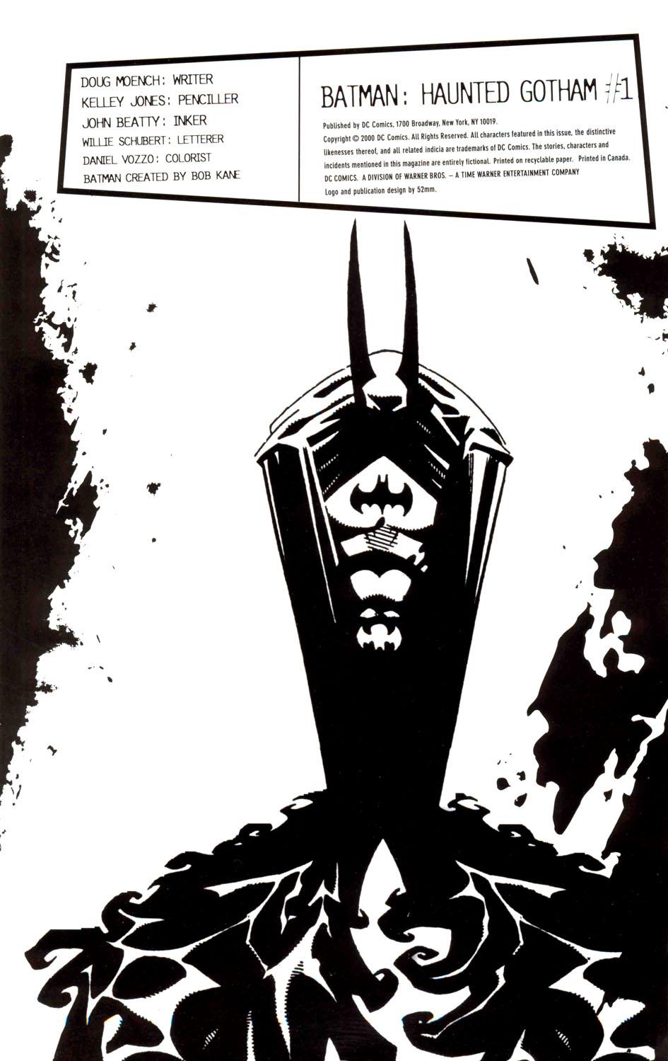 Read online Batman: Haunted Gotham comic -  Issue #1 - 2