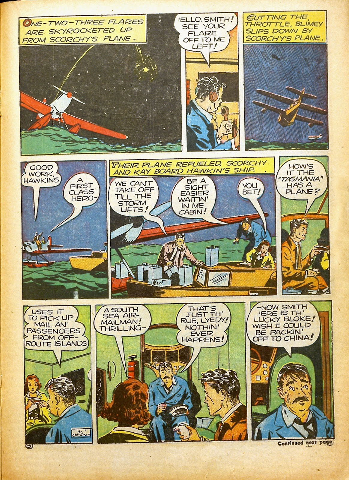Read online Famous Funnies comic -  Issue #91 - 38