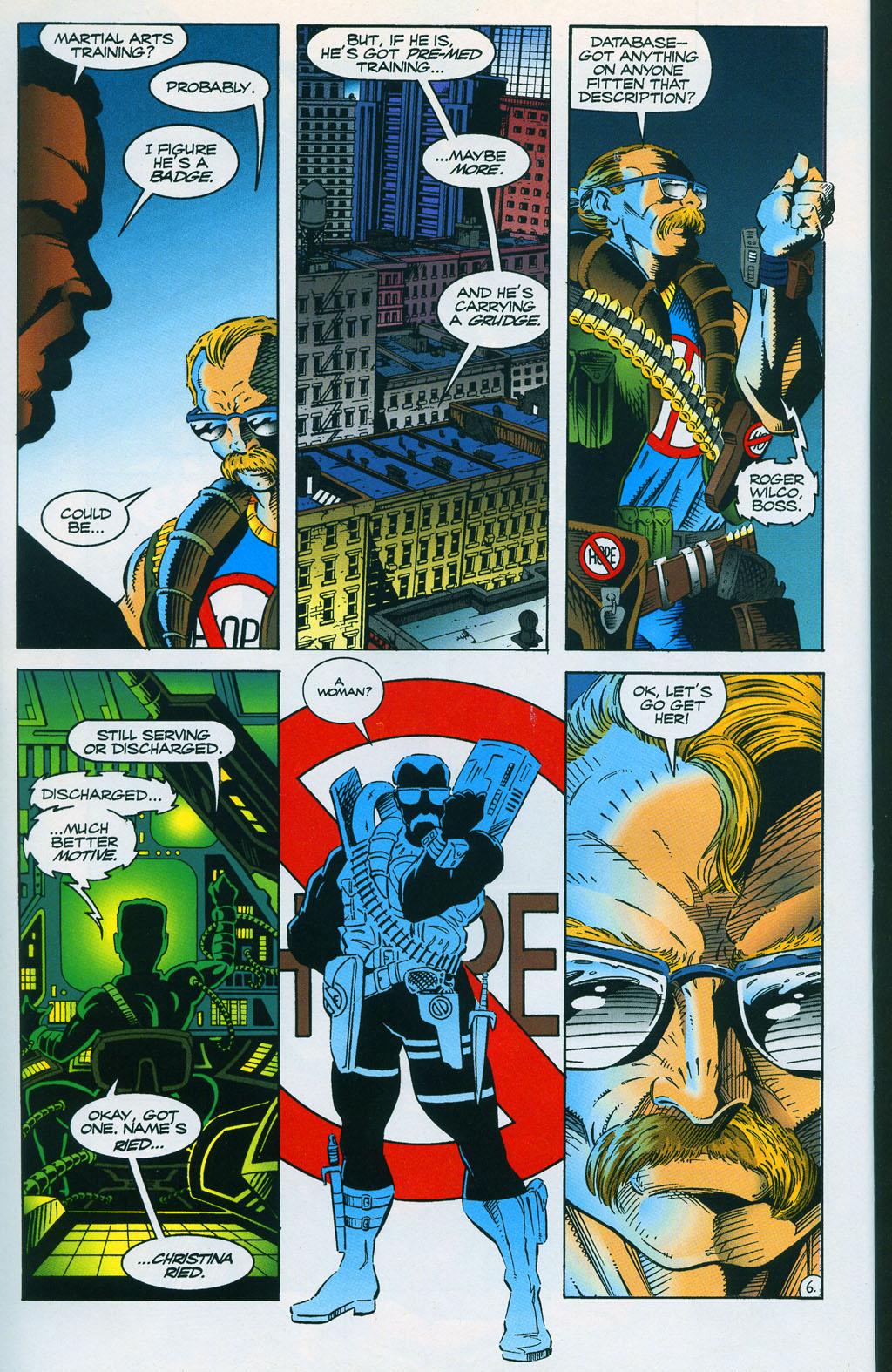Read online ShadowHawk comic -  Issue #7 - 10