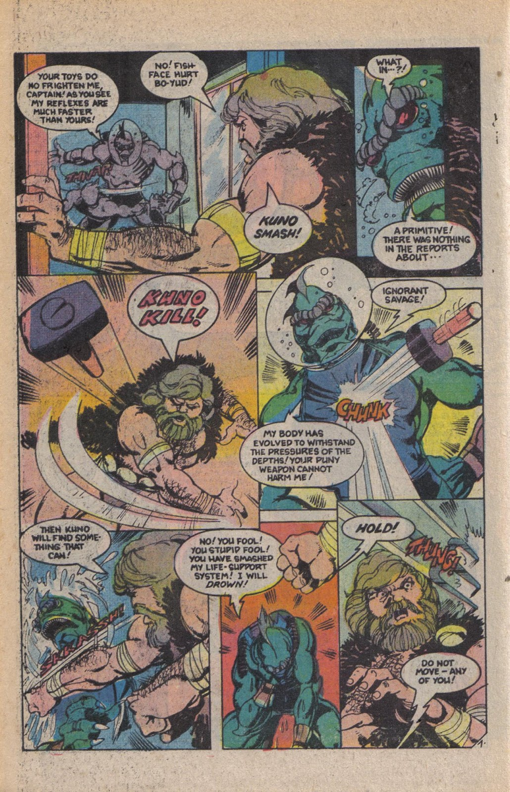 Read online Doomsday   1 (1975) comic -  Issue #10 - 10