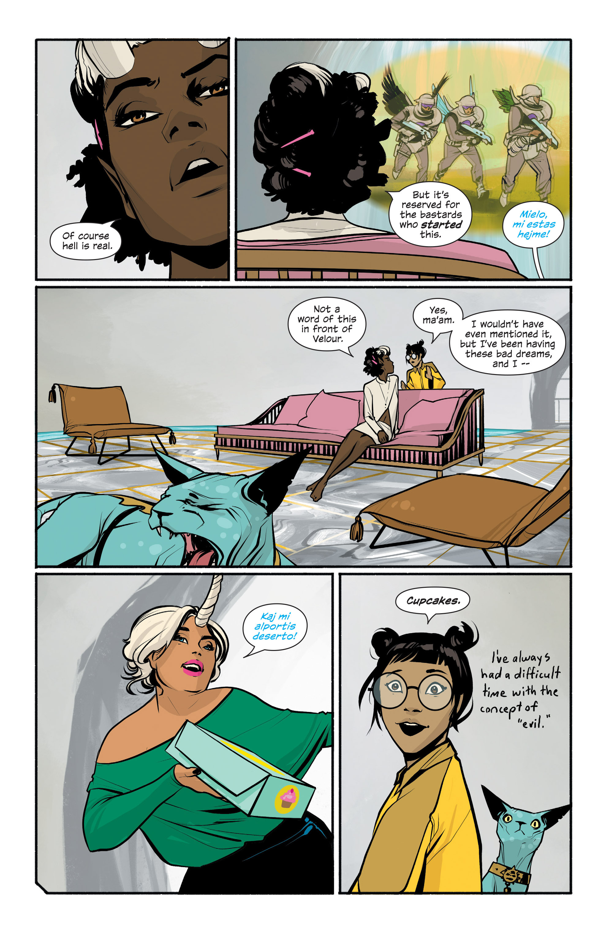 Read online Saga comic -  Issue #42 - 5
