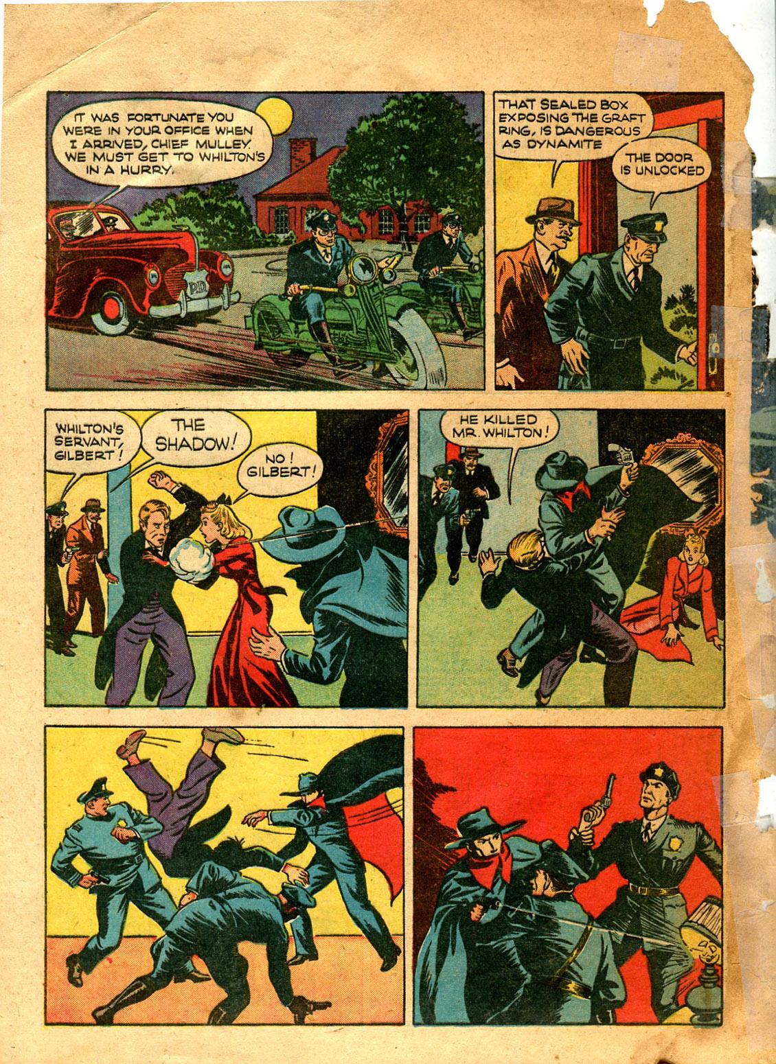 Read online Shadow Comics comic -  Issue #9 - 6