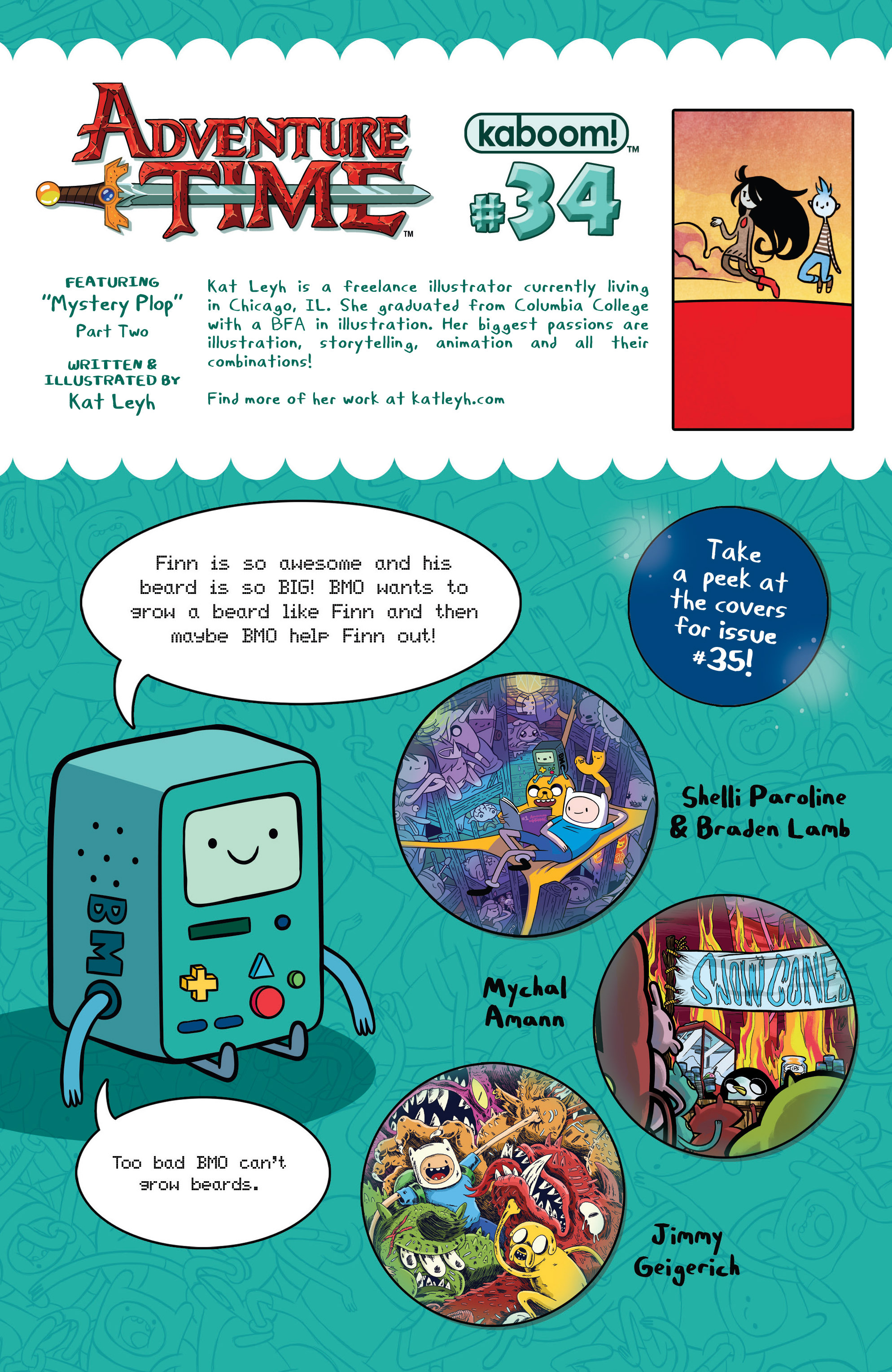 Read online Adventure Time comic -  Issue #34 - 24