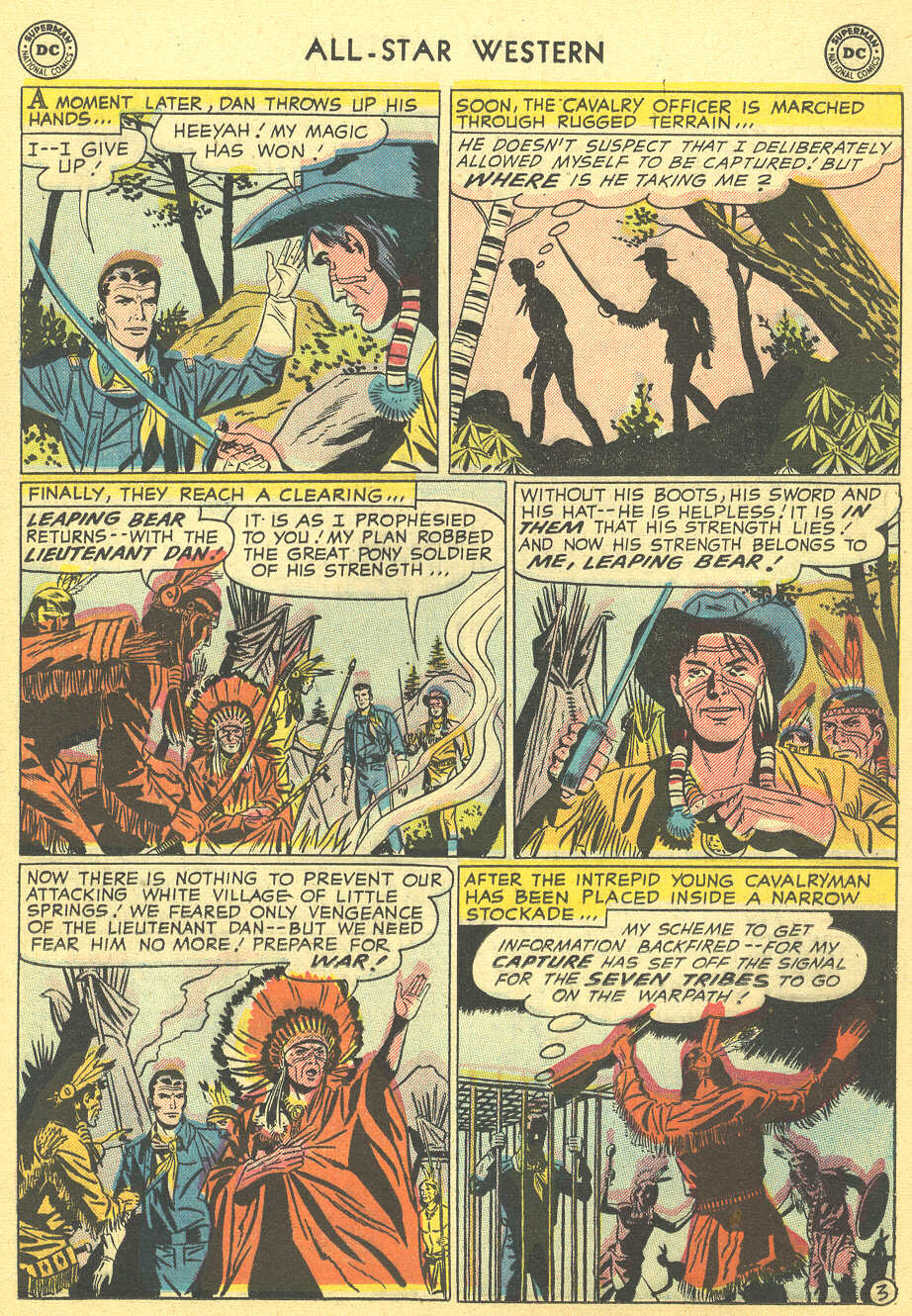 Read online All-Star Western (1951) comic -  Issue #92 - 21