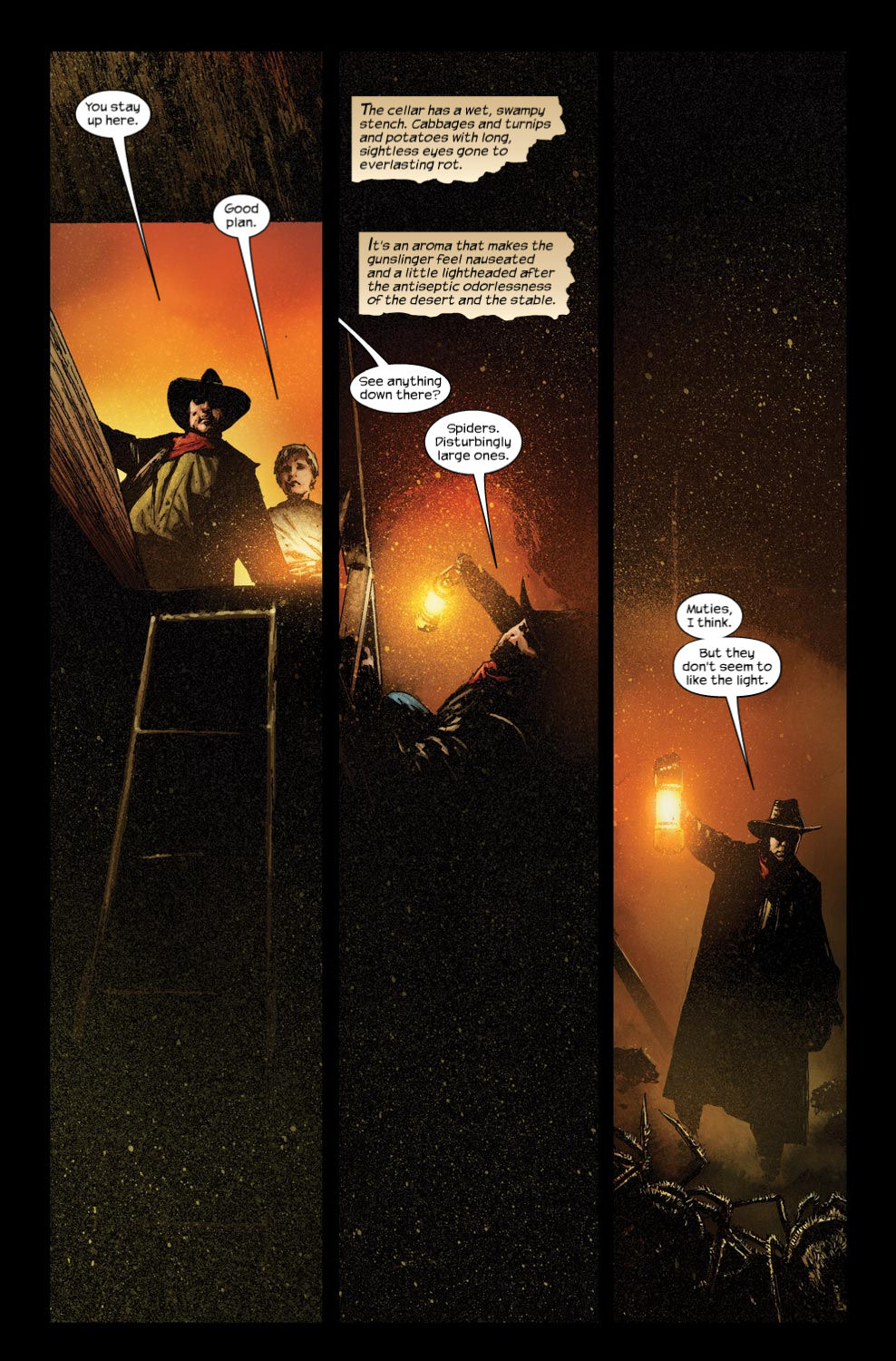 Read online Dark Tower: The Gunslinger - The Way Station comic -  Issue #3 - 13