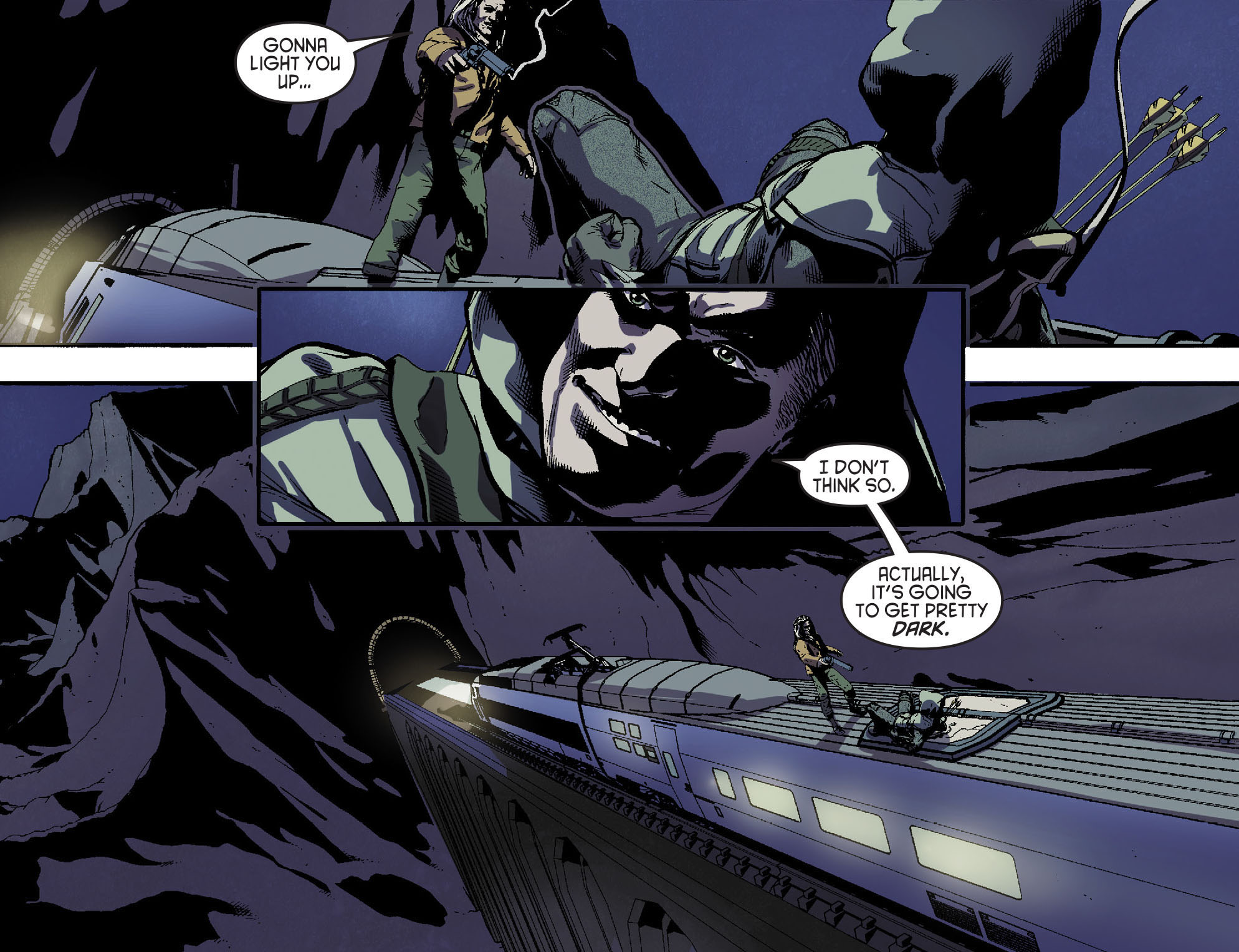Read online Arrow [II] comic -  Issue #15 - 14