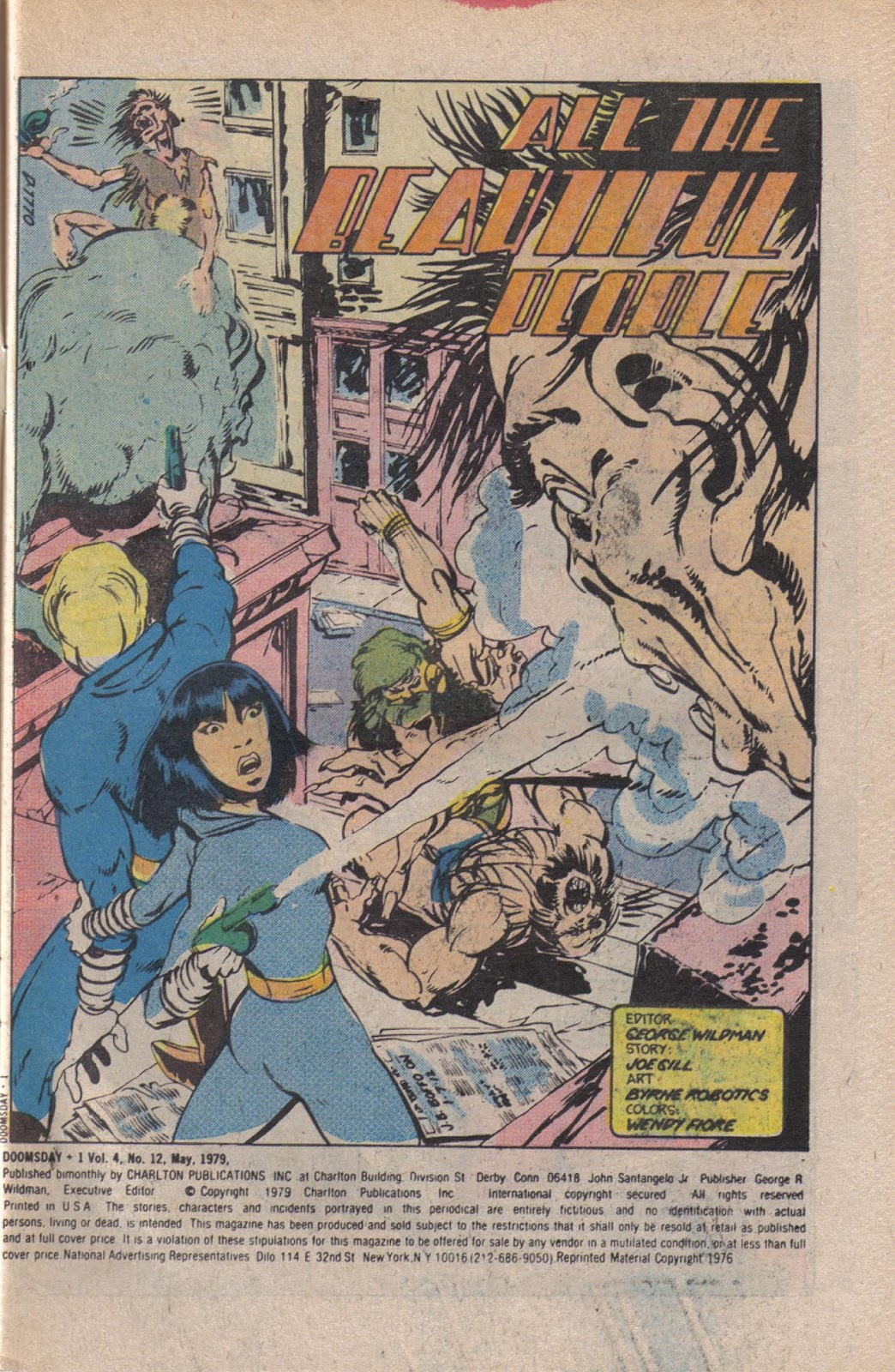 Read online Doomsday   1 (1975) comic -  Issue #12 - 3