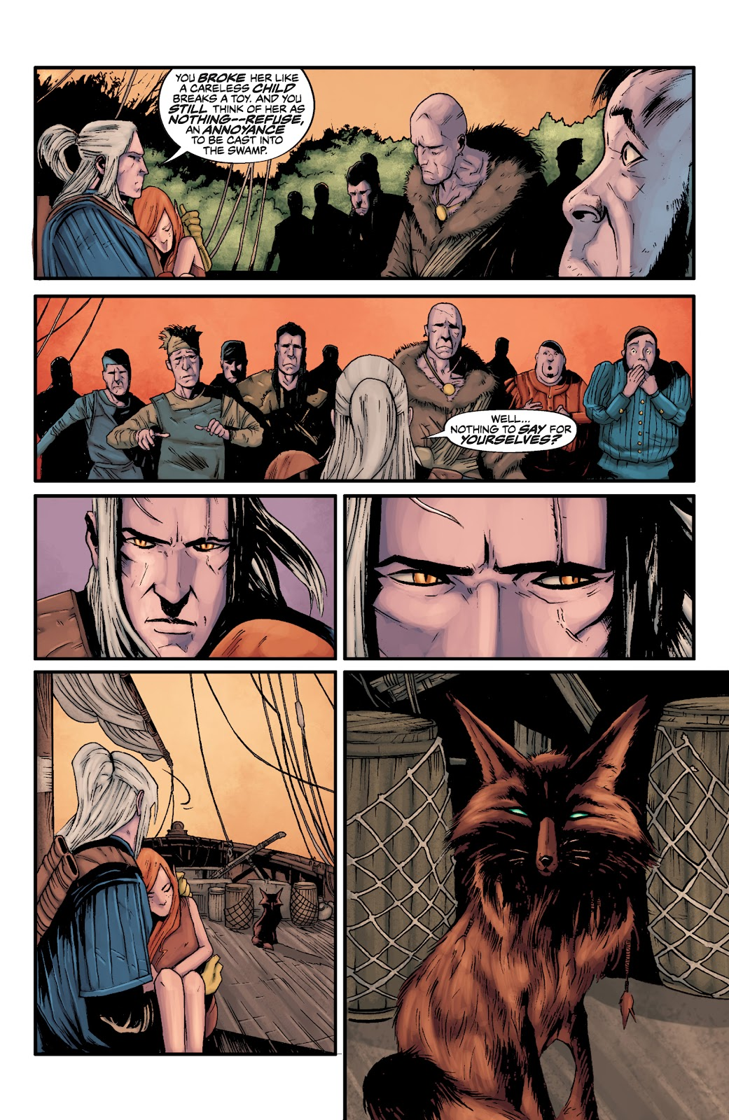 Read online The Witcher Omnibus comic -  Issue # TPB (Part 3) - 22