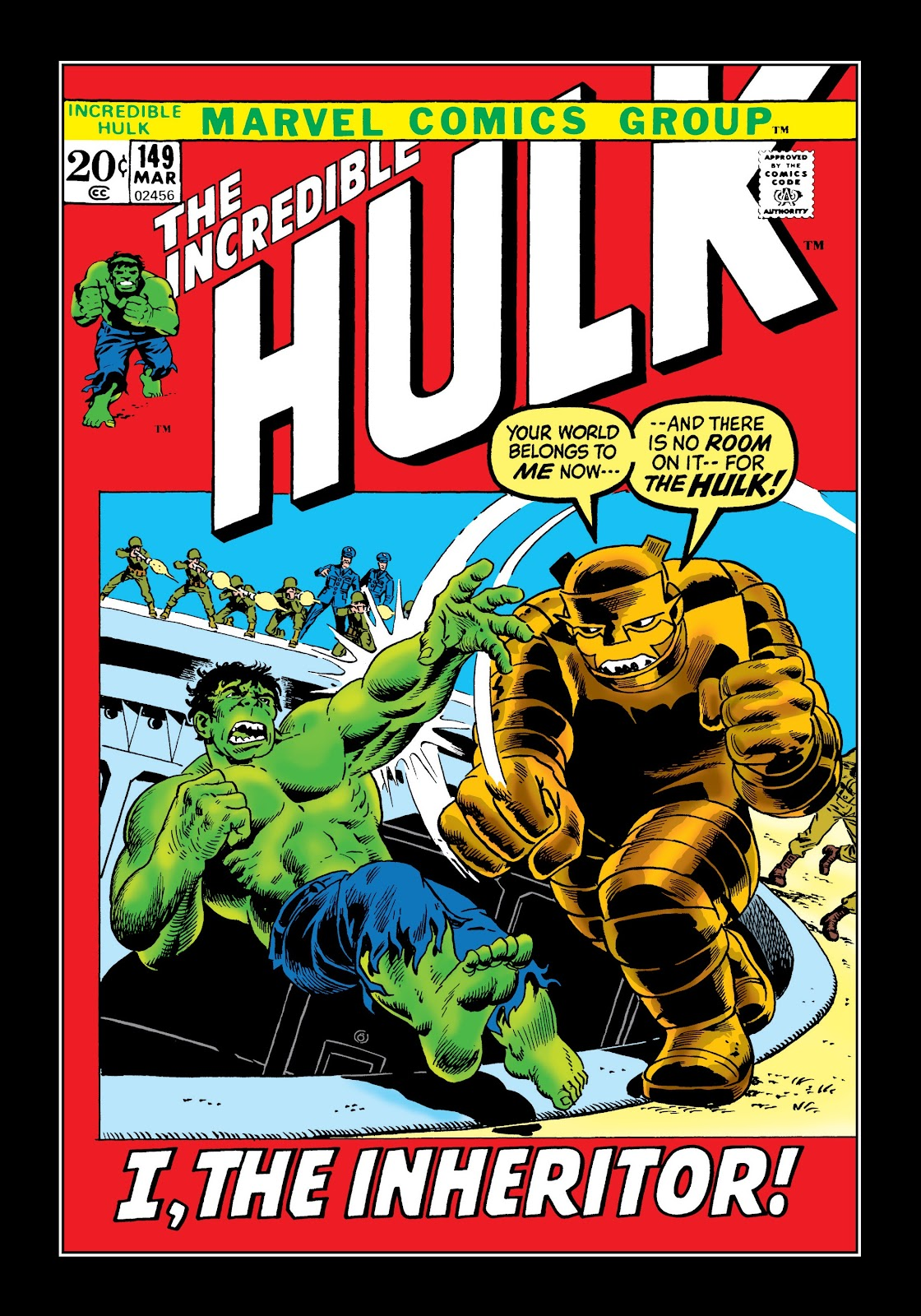 Read online Marvel Masterworks: The Incredible Hulk comic -  Issue # TPB 8 (Part 2) - 8