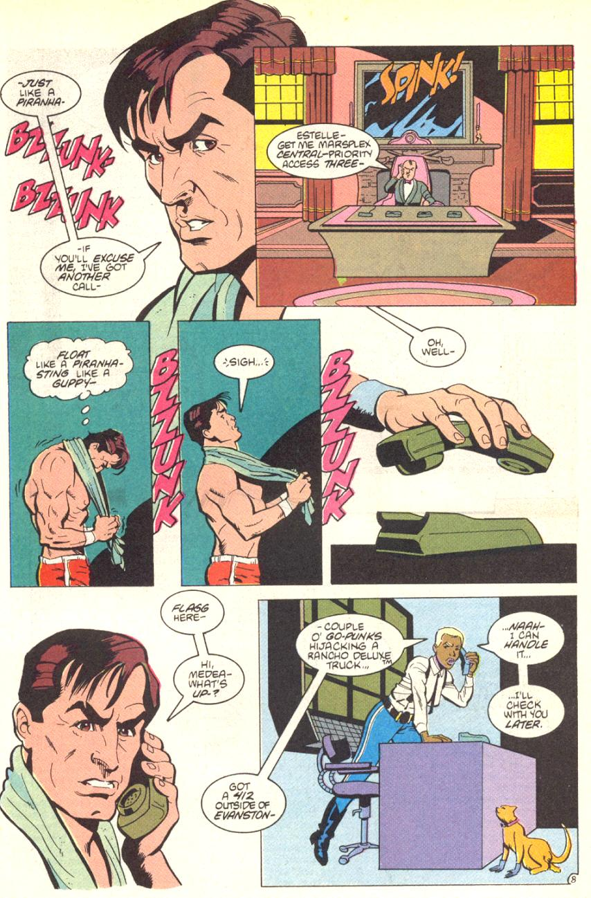 Read online American Flagg! comic -  Issue #13 - 9