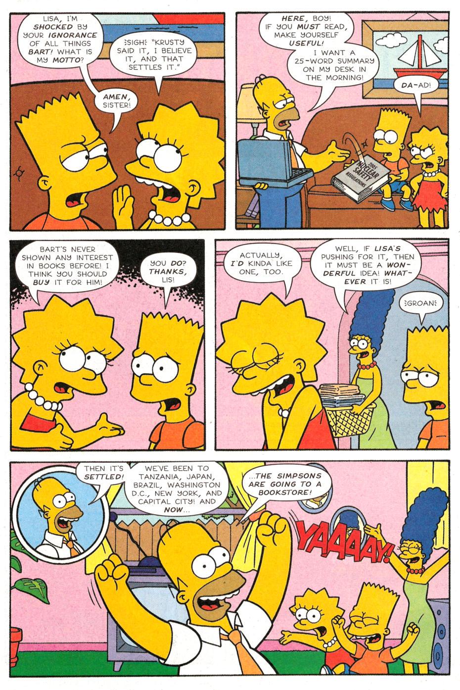 Read online Simpsons Comics Presents Bart Simpson comic -  Issue #30 - 3
