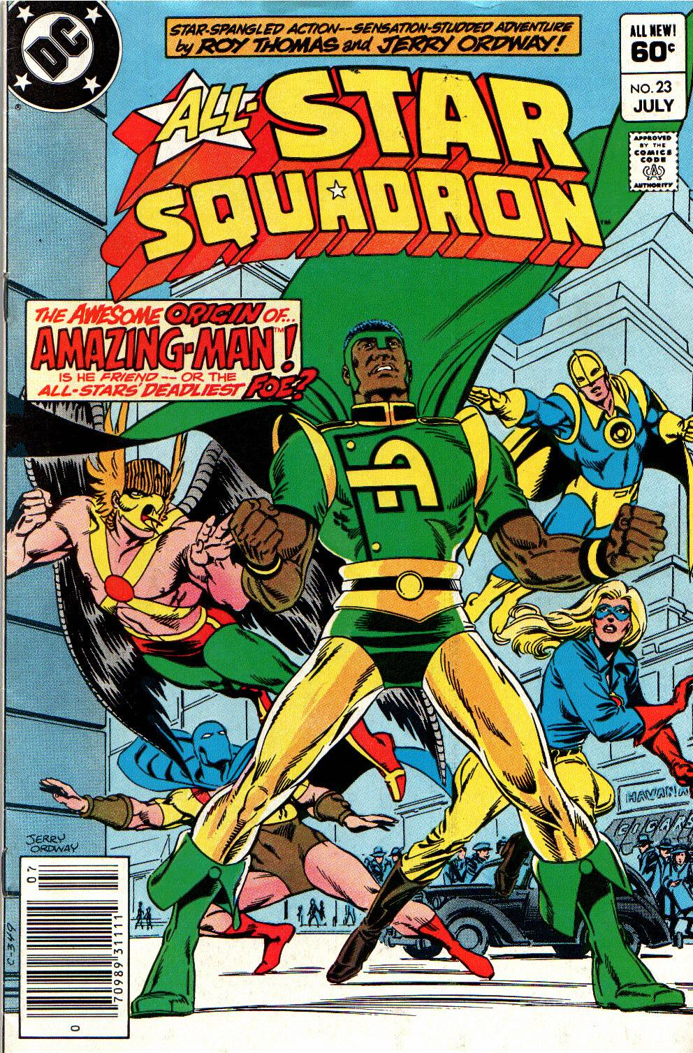 Read online All-Star Squadron comic -  Issue #23 - 1