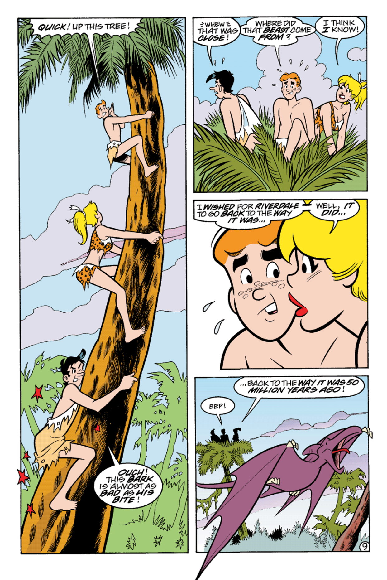 Read online Archie's Weird Mysteries comic -  Issue #21 - 22