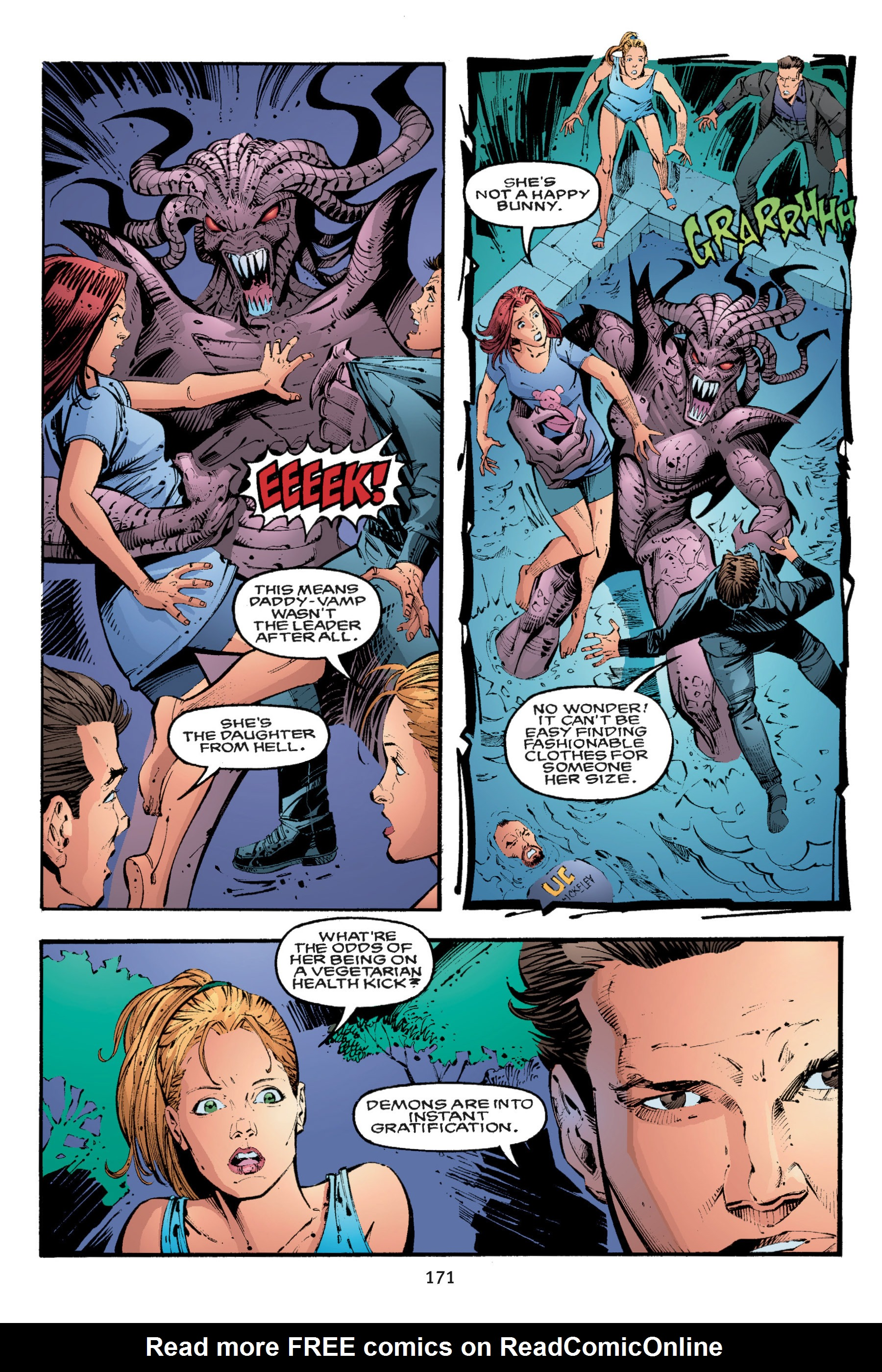 Read online Buffy the Vampire Slayer: Omnibus comic -  Issue # TPB 3 - 166