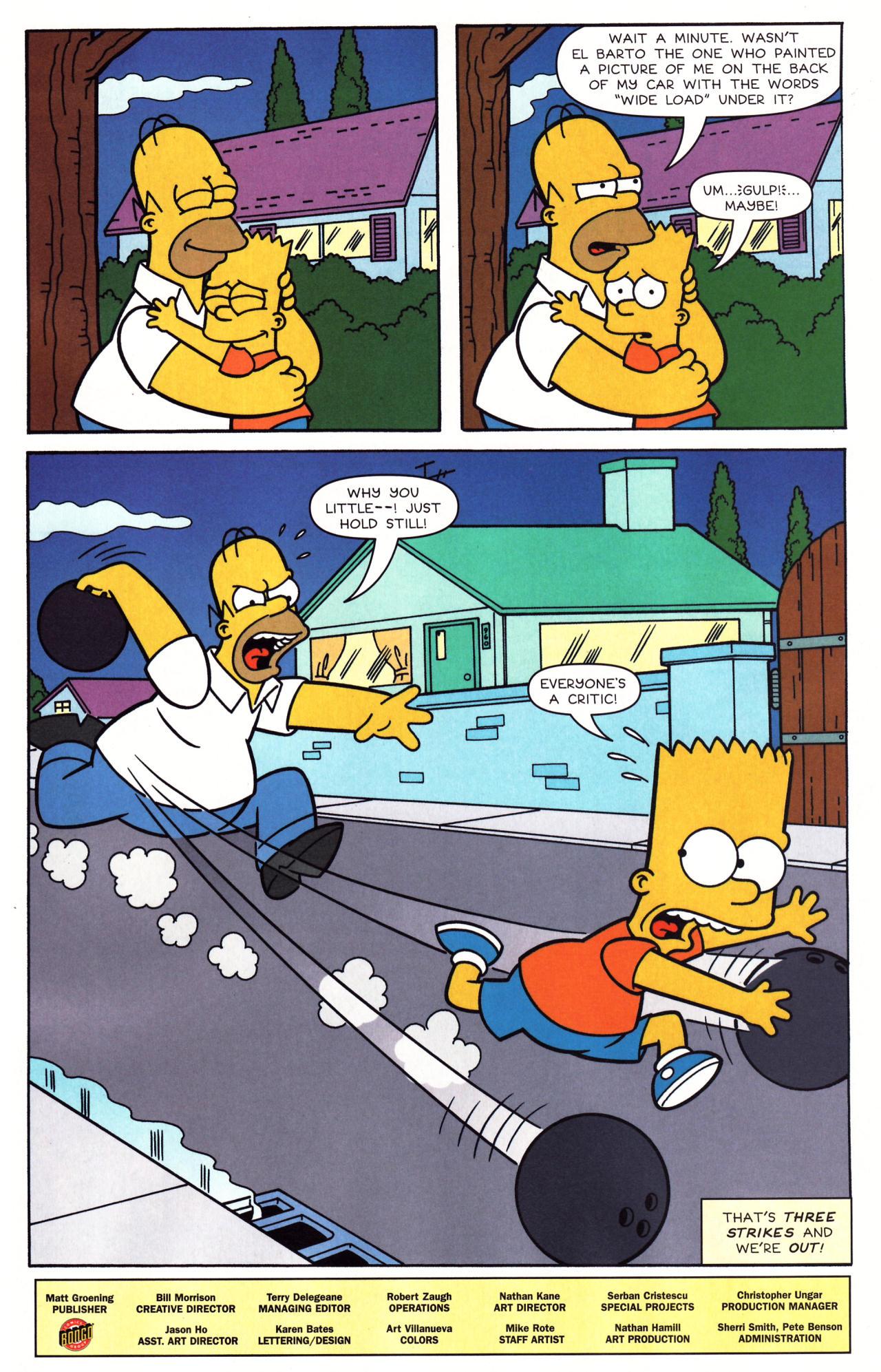 Read online Simpsons Comics comic -  Issue #136 - 26