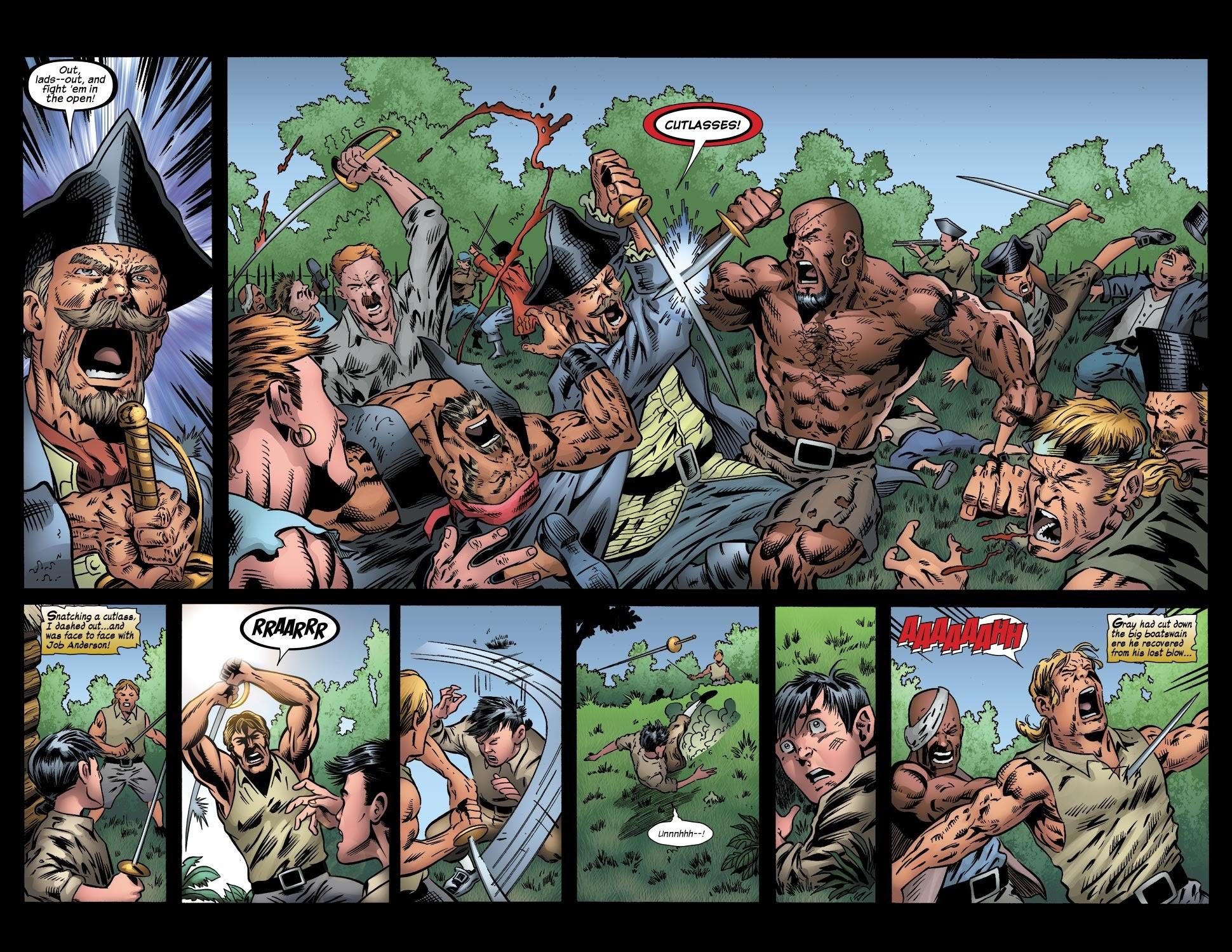 Read online Treasure Island comic -  Issue #4 - 10