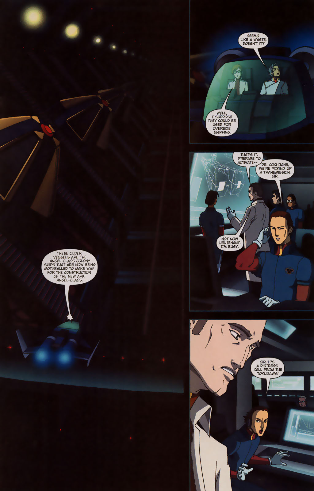 Read online Robotech: Prelude to the Shadow Chronicles comic -  Issue #3 - 13