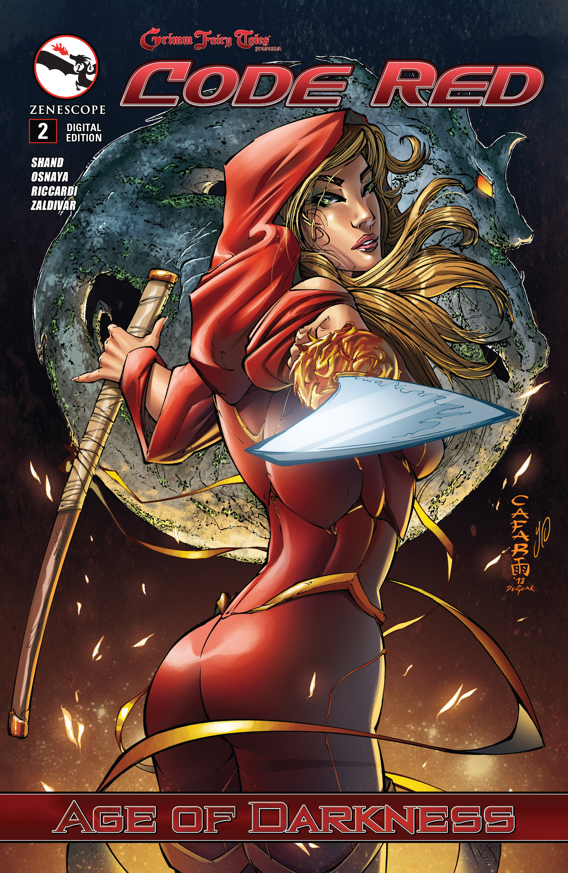 Read online Grimm Fairy Tales presents Code Red comic -  Issue # TPB - 29