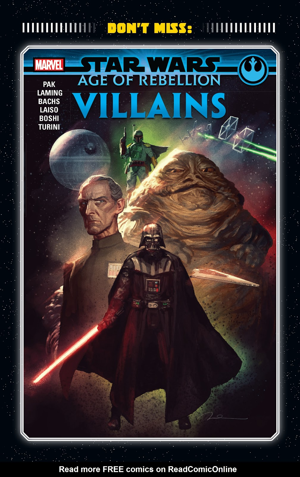 Read online Star Wars: Age of Rebellion - Heroes comic -  Issue # TPB - 128