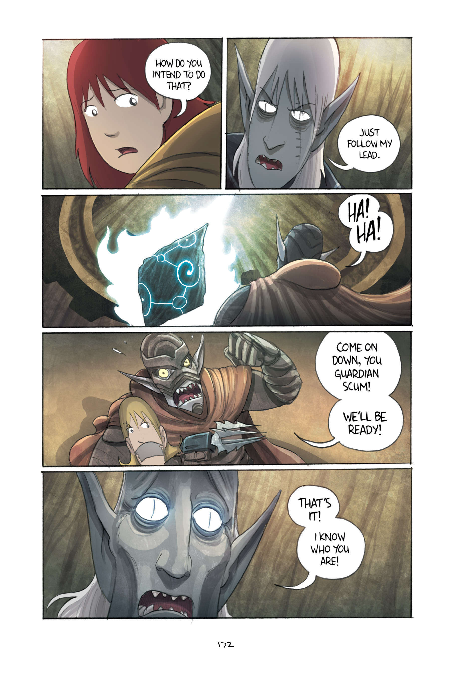 Read online Amulet comic -  Issue #3 - 168
