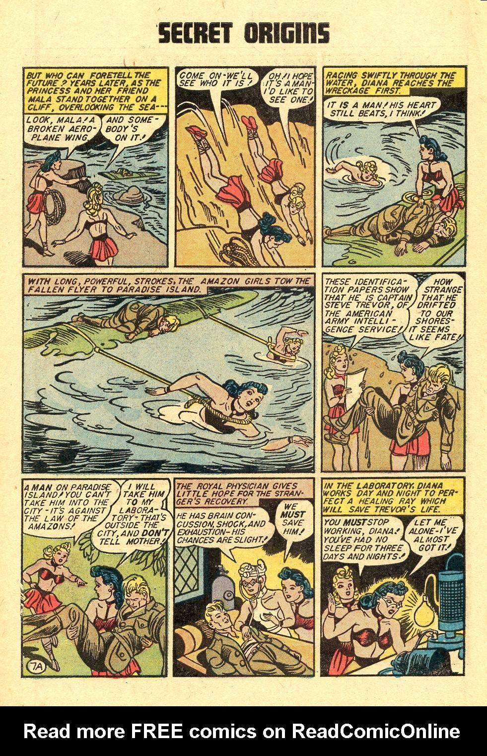 Read online Secret Origins (1973) comic -  Issue #3 - 10