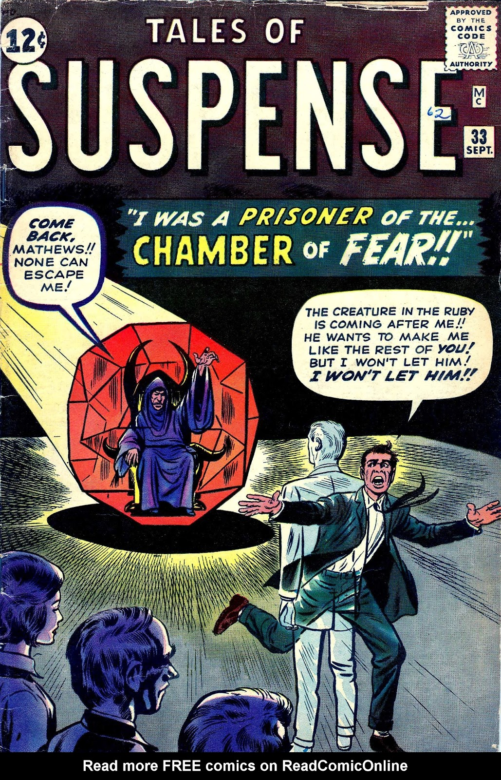 Tales of Suspense (1959) issue 33 - Page 1