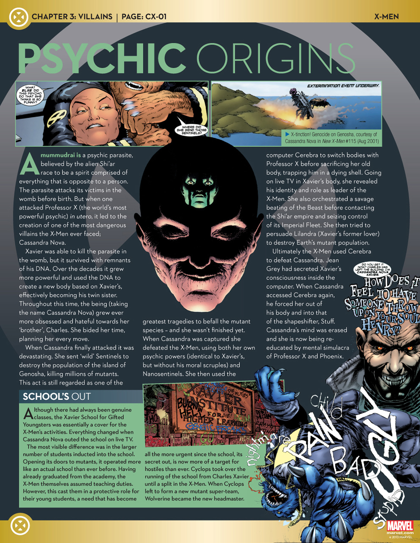 Marvel Fact Files 37 Page 31
