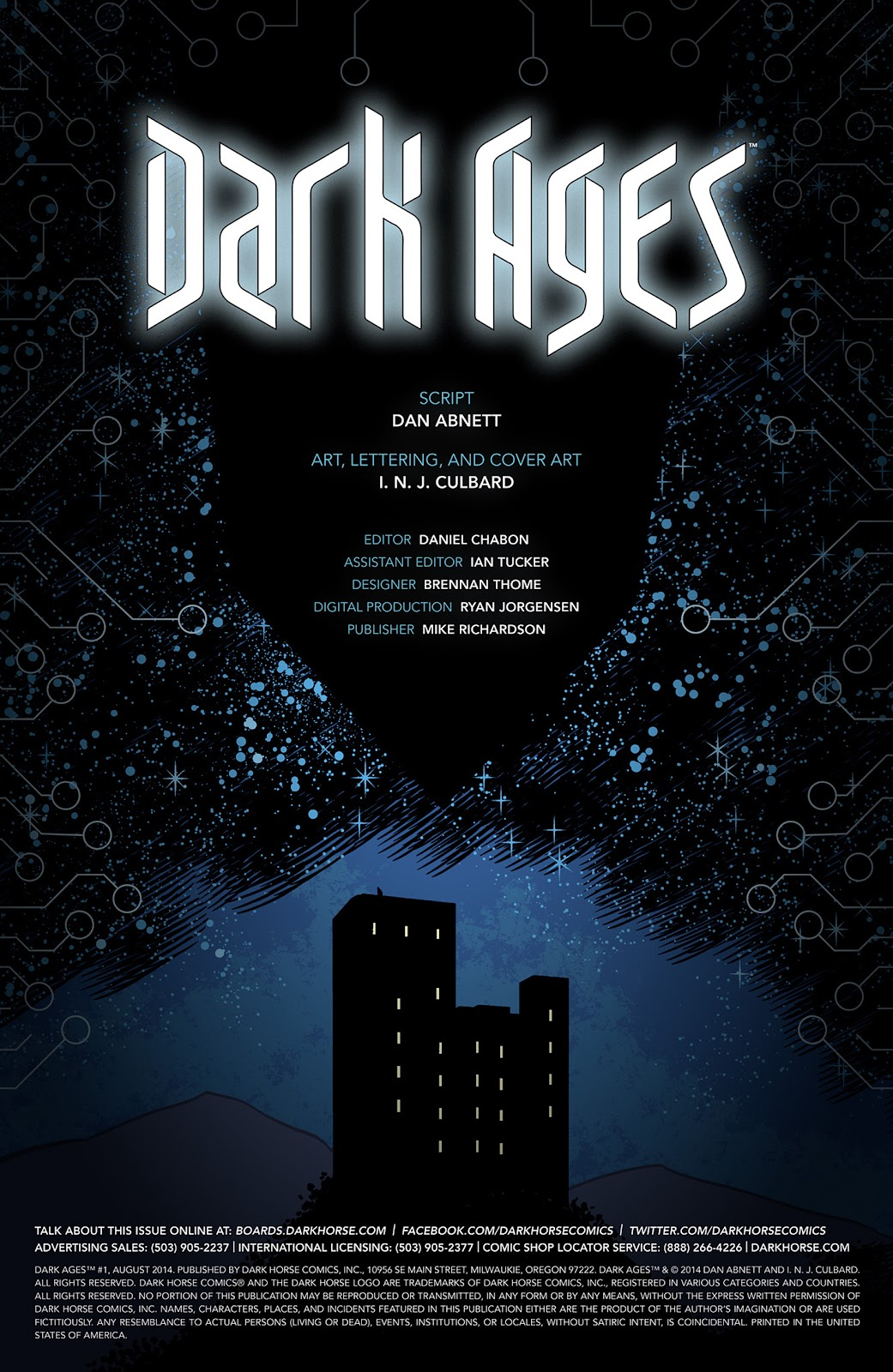 Read online Dark Ages comic -  Issue #1 - 2