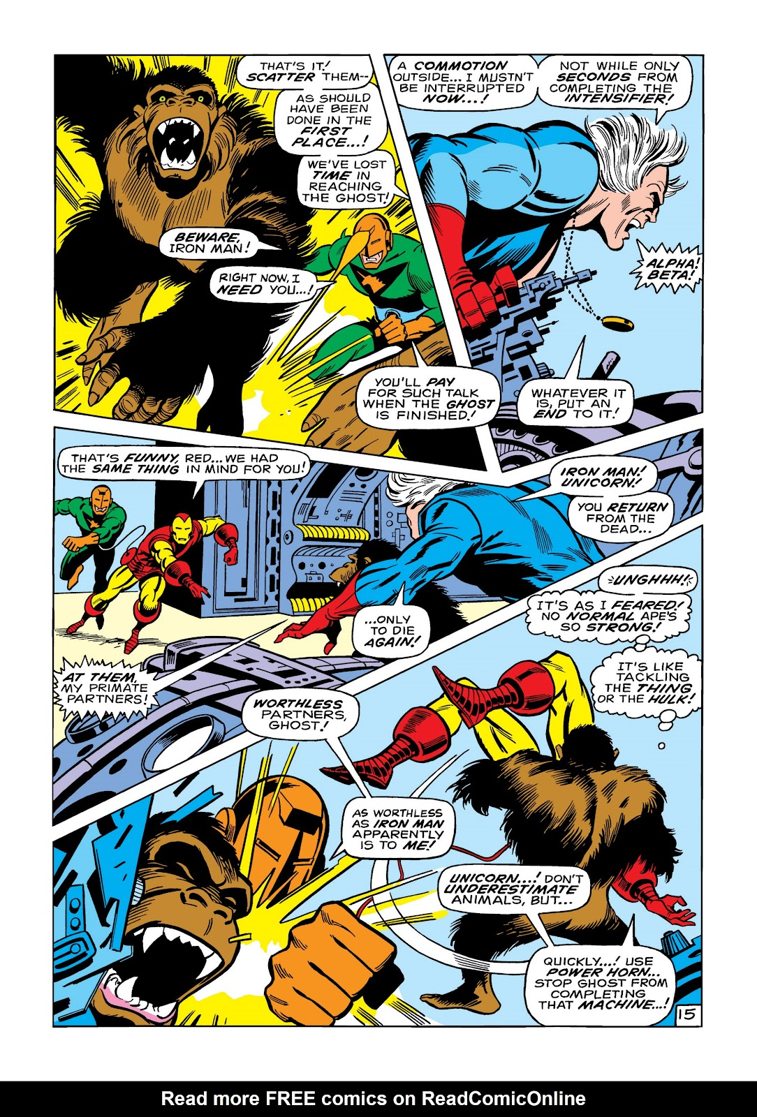 Read online Marvel Masterworks: The Invincible Iron Man comic -  Issue # TPB 6 (Part 1) - 63