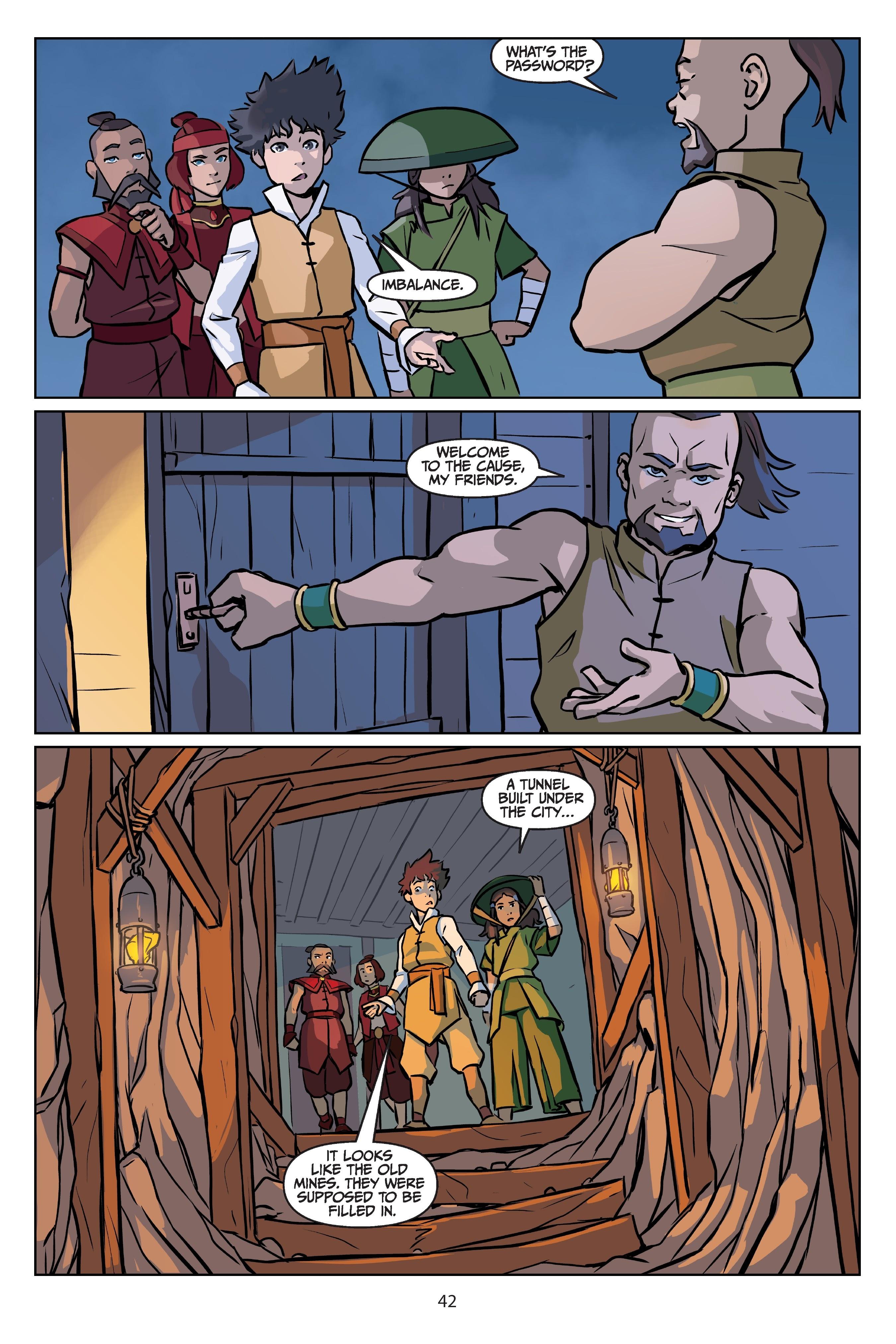 Nickelodeon Avatar: The Last Airbender - Imbalance TPB_2 Page 42