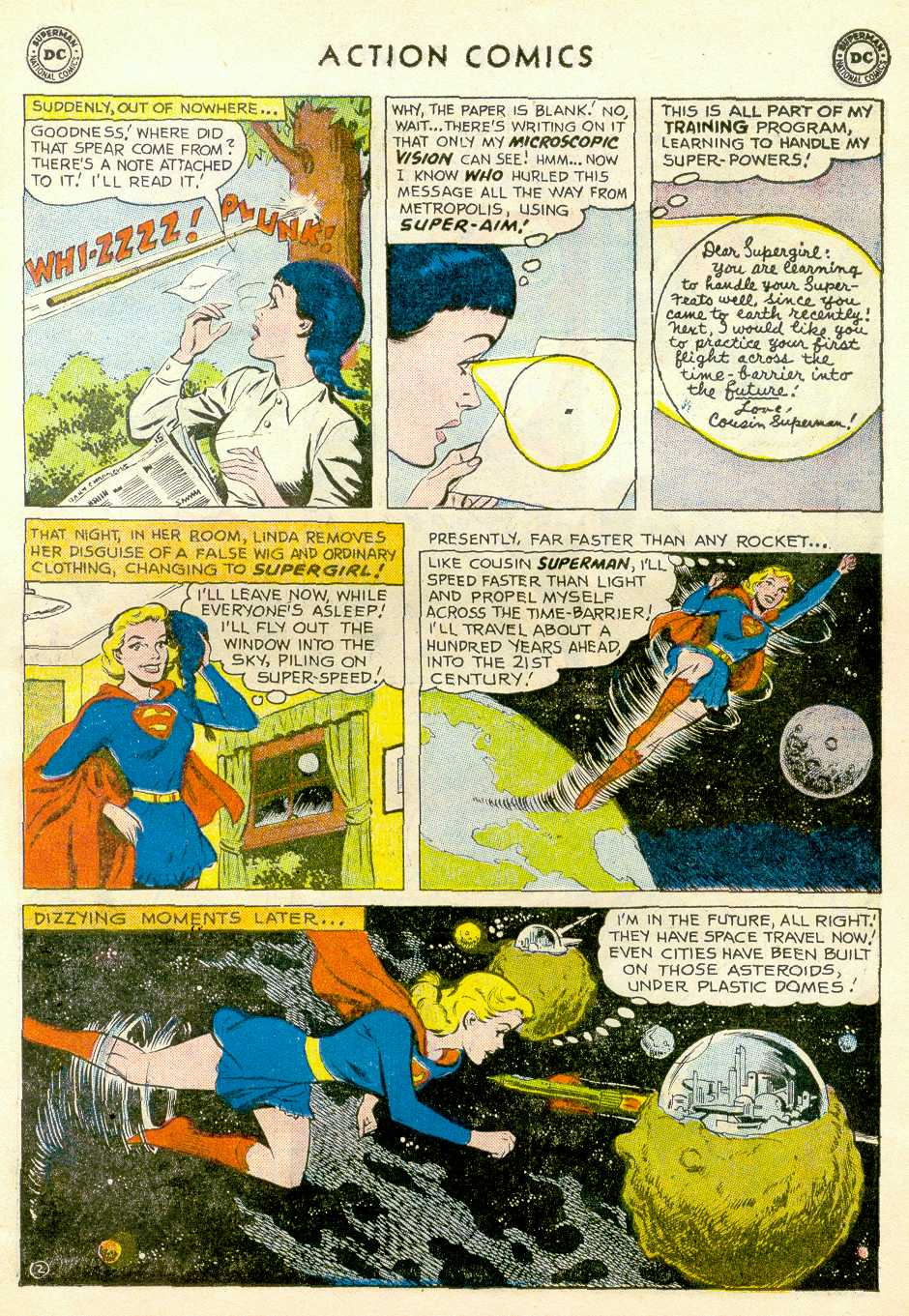 Read online Action Comics (1938) comic -  Issue #255 - 27