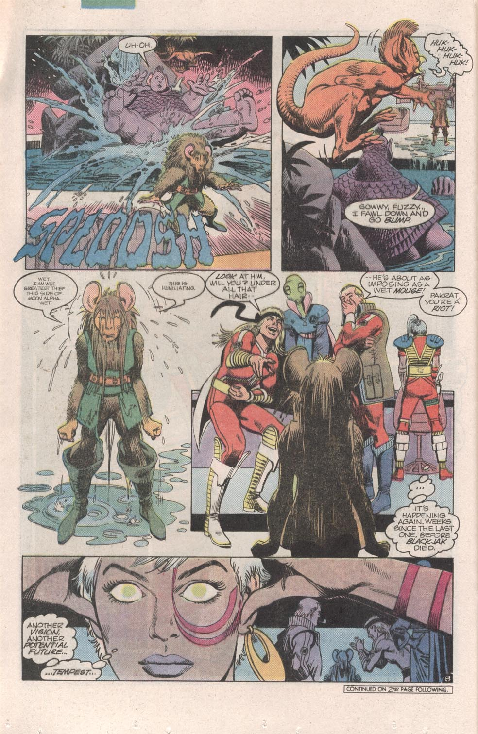 Read online Atari Force (1984) comic -  Issue #6 - 10