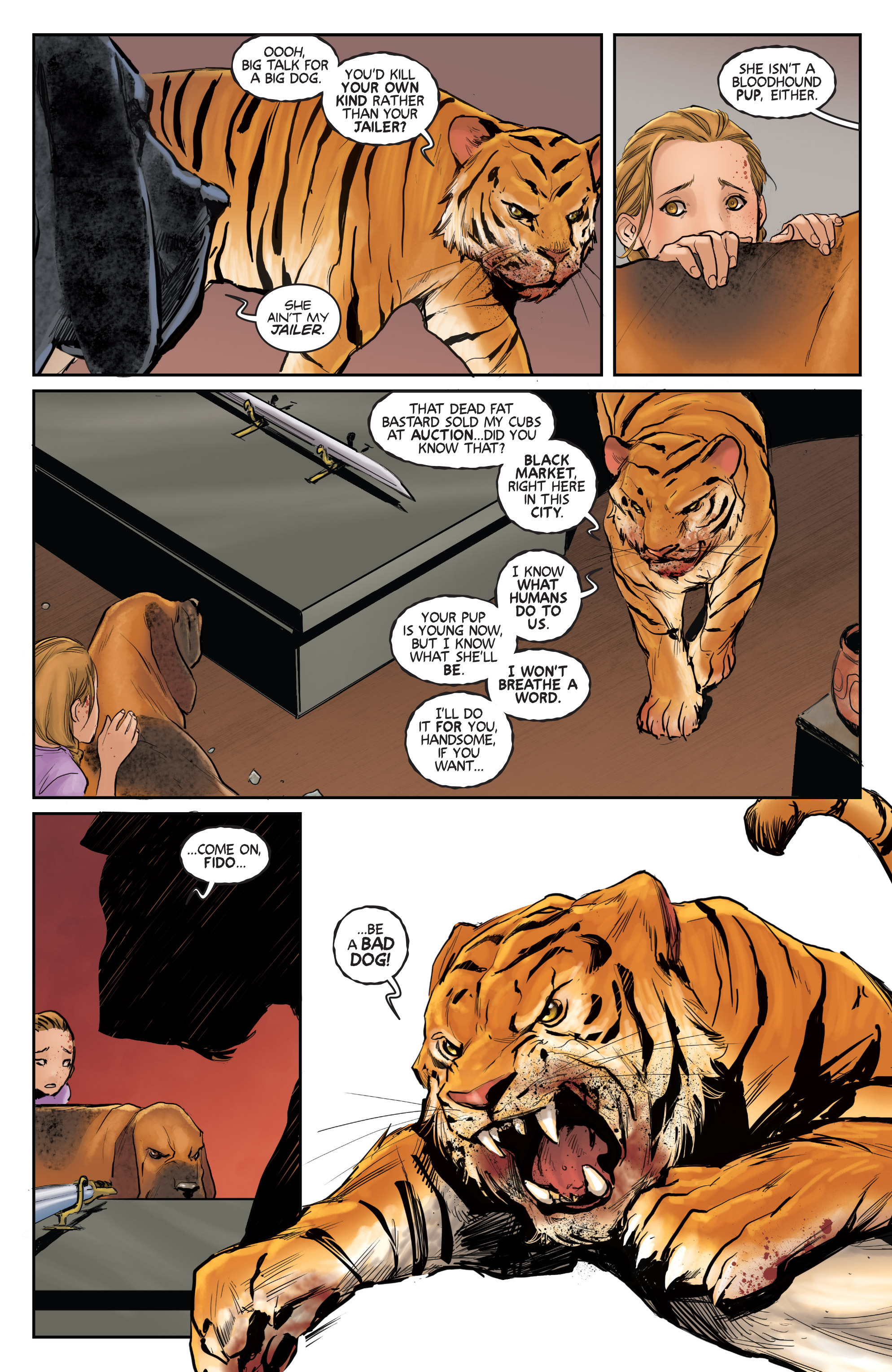 Read online Animosity comic -  Issue #1 - 16