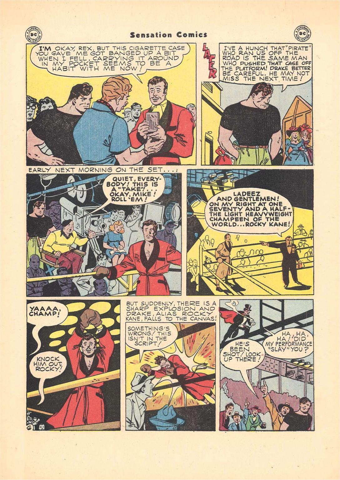 Read online Sensation (Mystery) Comics comic -  Issue #55 - 47