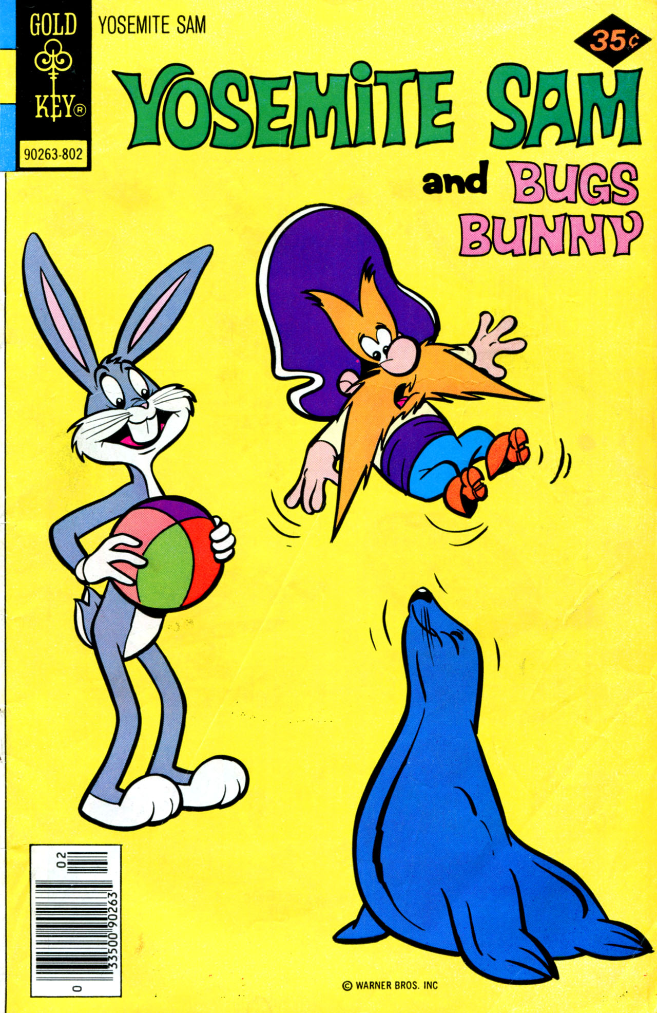 Yosemite Sam and Bugs Bunny 50 Page 1