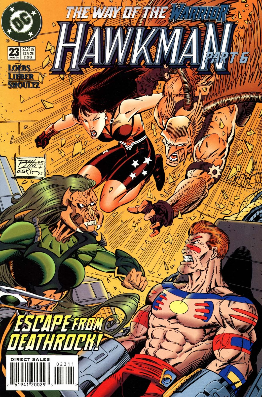 Hawkman (1993) Issue #23 #26 - English 1