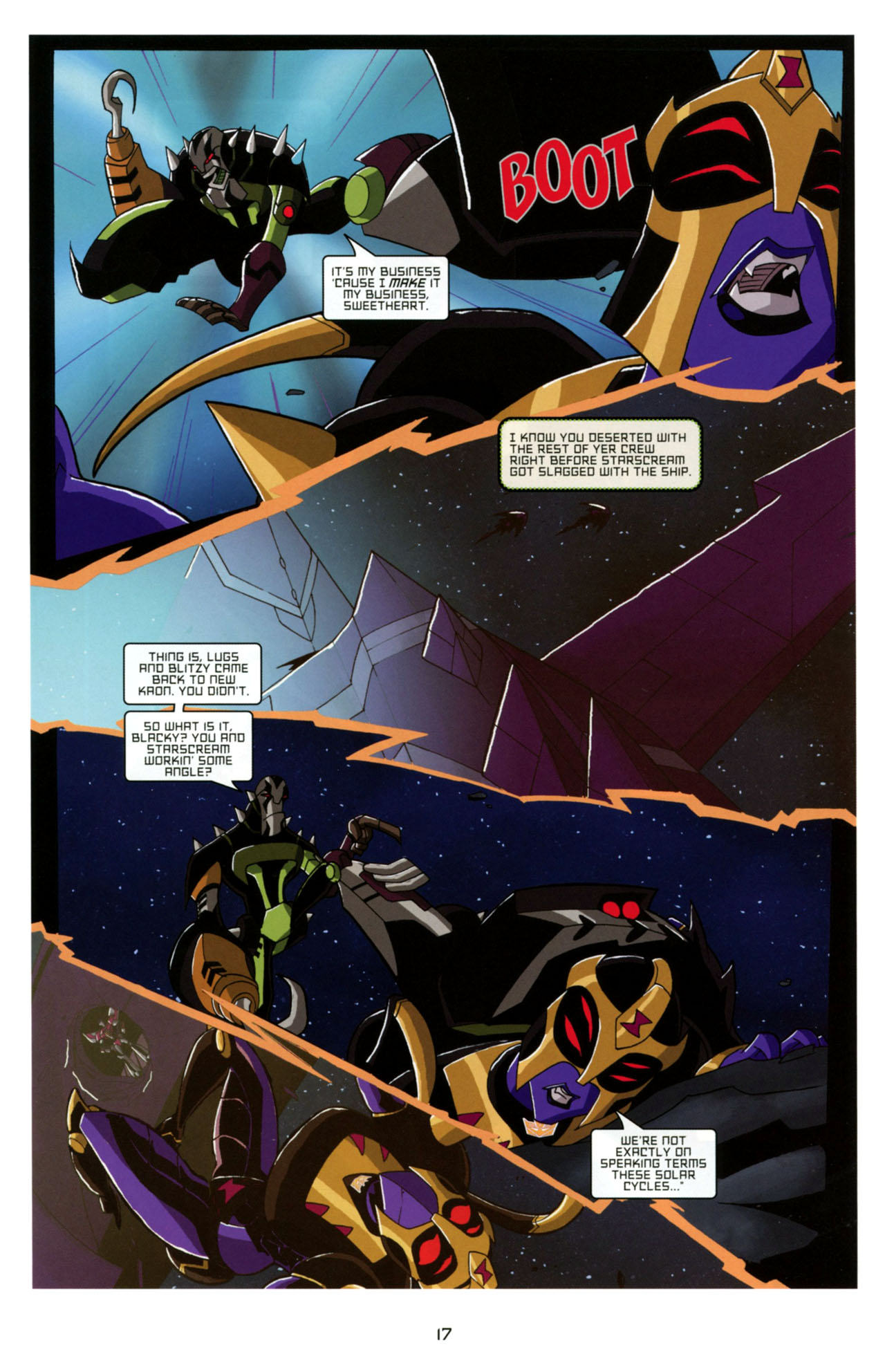 Read online Transformers Animated: The Arrival comic -  Issue #4 - 20