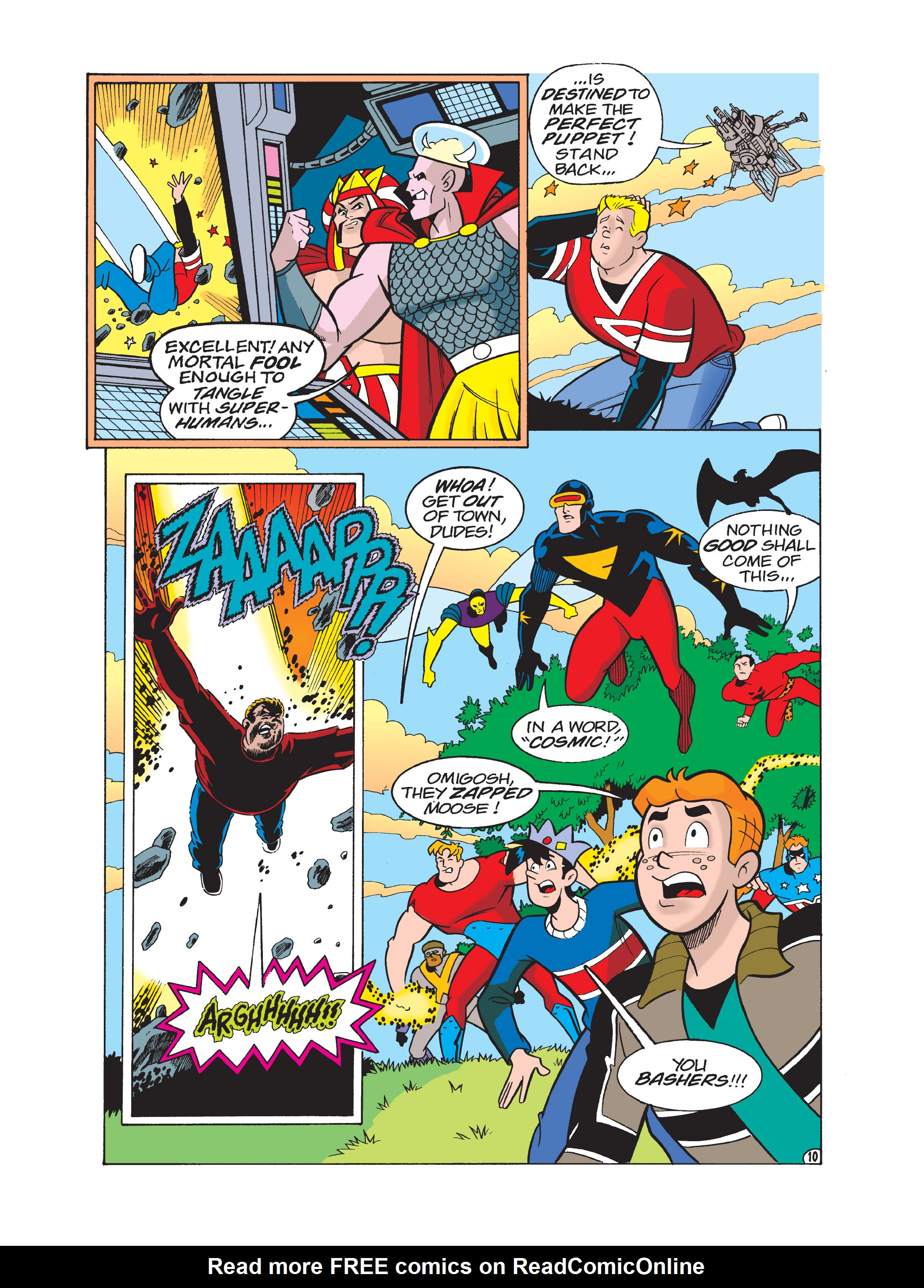 Read online Archie 75th Anniversary Digest comic -  Issue #1 - 126