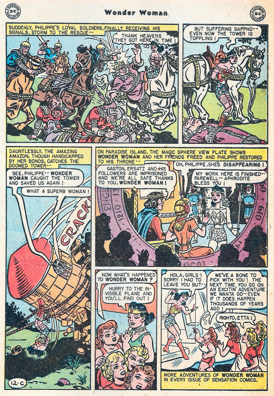 Read online Wonder Woman (1942) comic -  Issue #27 - 49