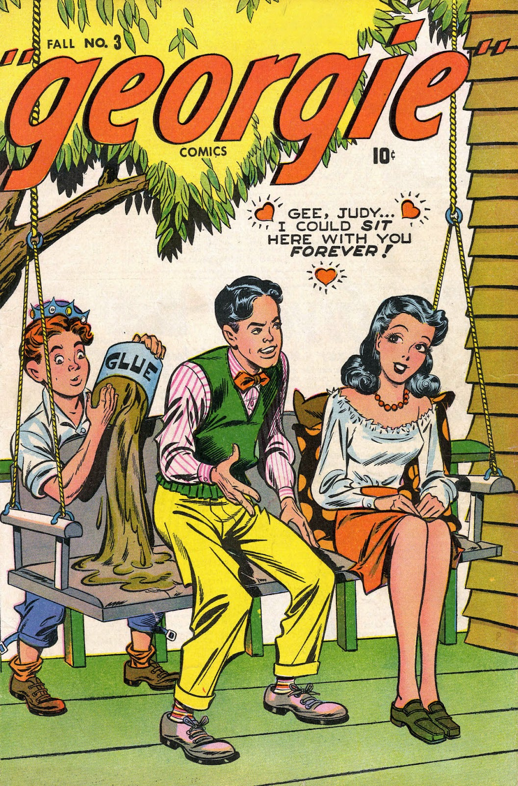 Georgie Comics (1945) issue 3 - Page 1