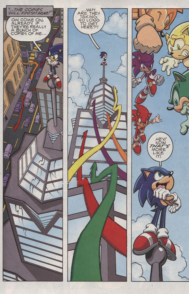 Read online Sonic X comic -  Issue #25 - 8