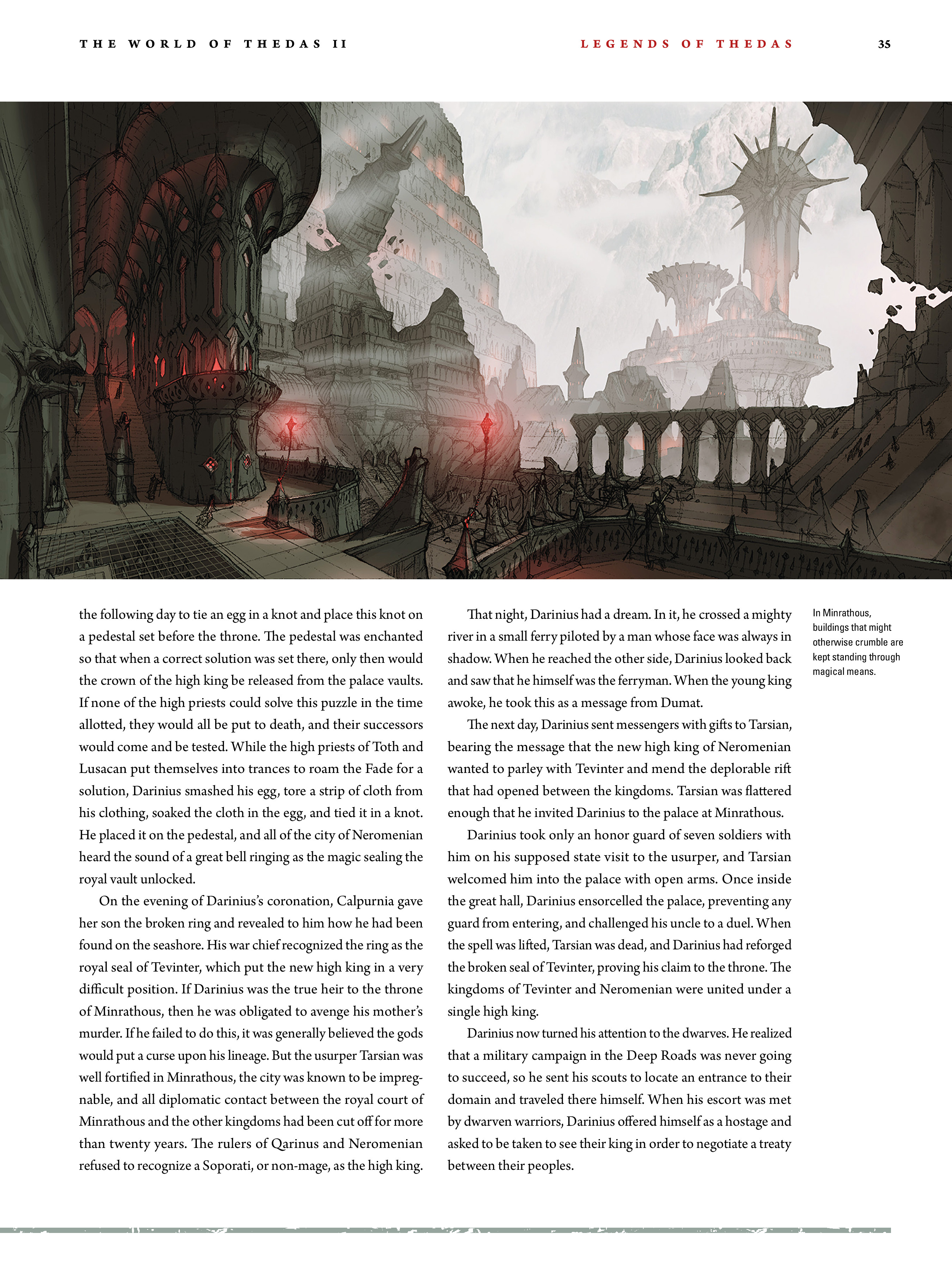 Read online Dragon Age: The World of Thedas comic -  Issue # TPB 2 - 32