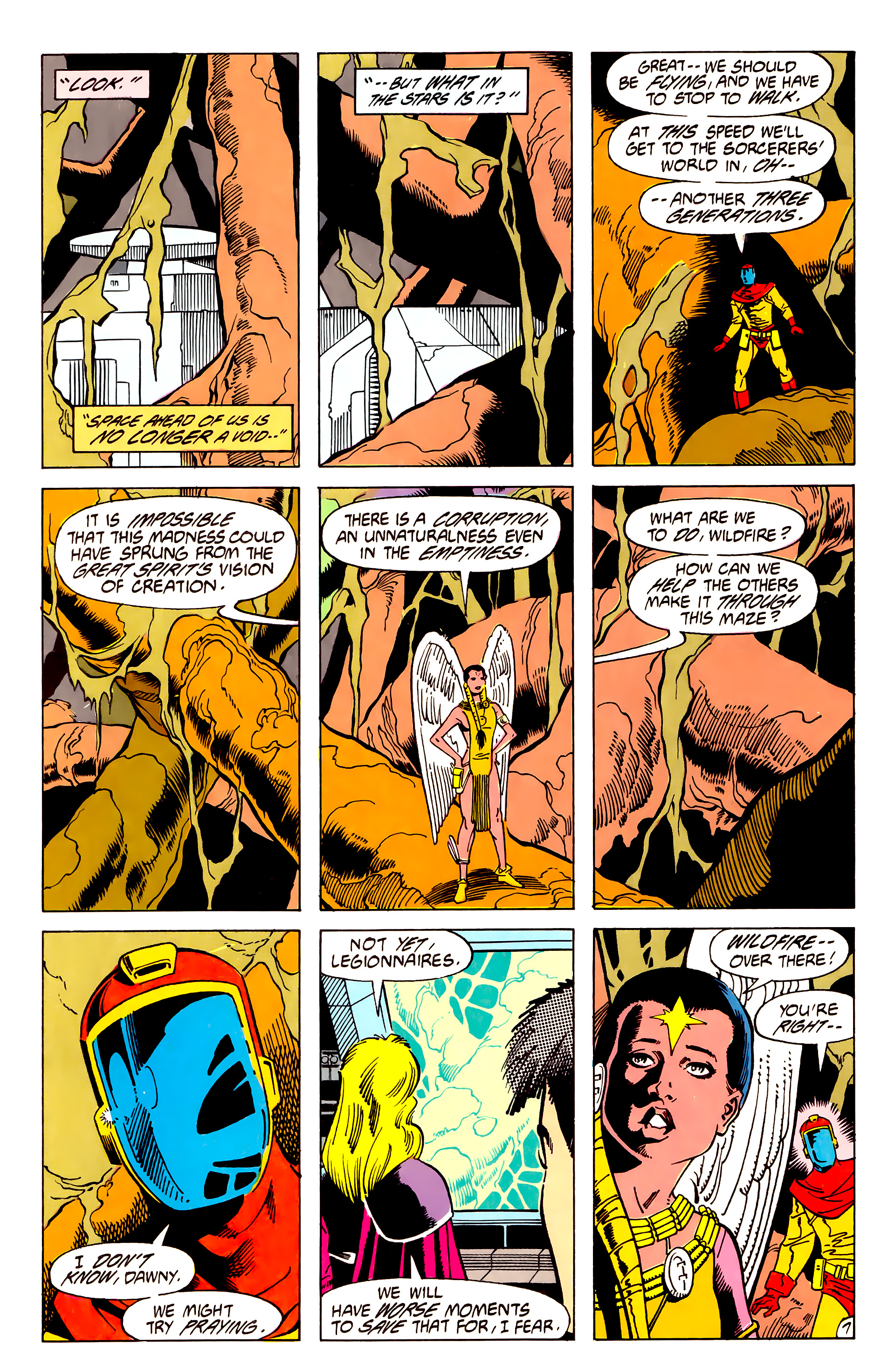 Legion of Super-Heroes (1984) 62 Page 7