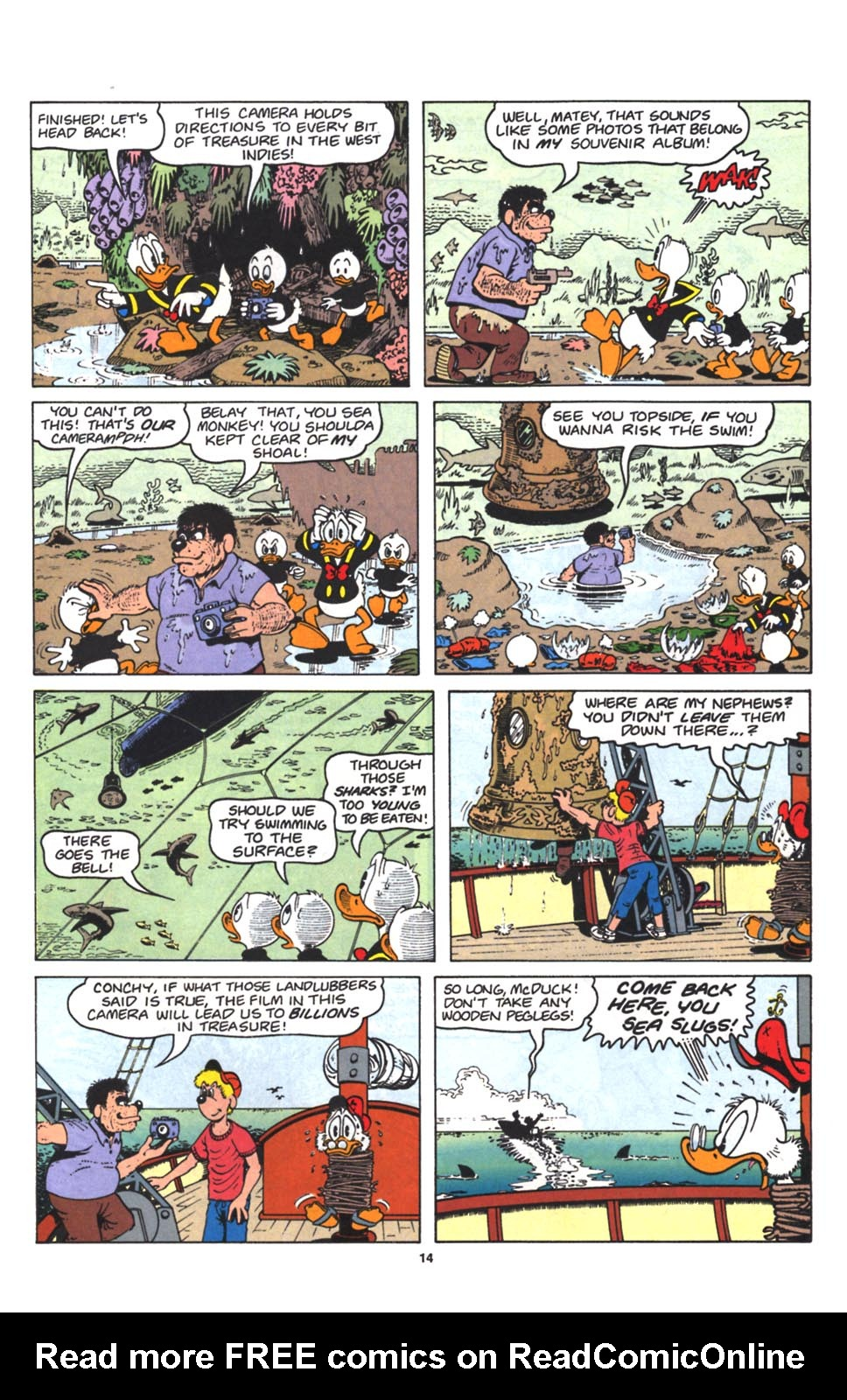 Read online Uncle Scrooge (1953) comic -  Issue #263 - 15