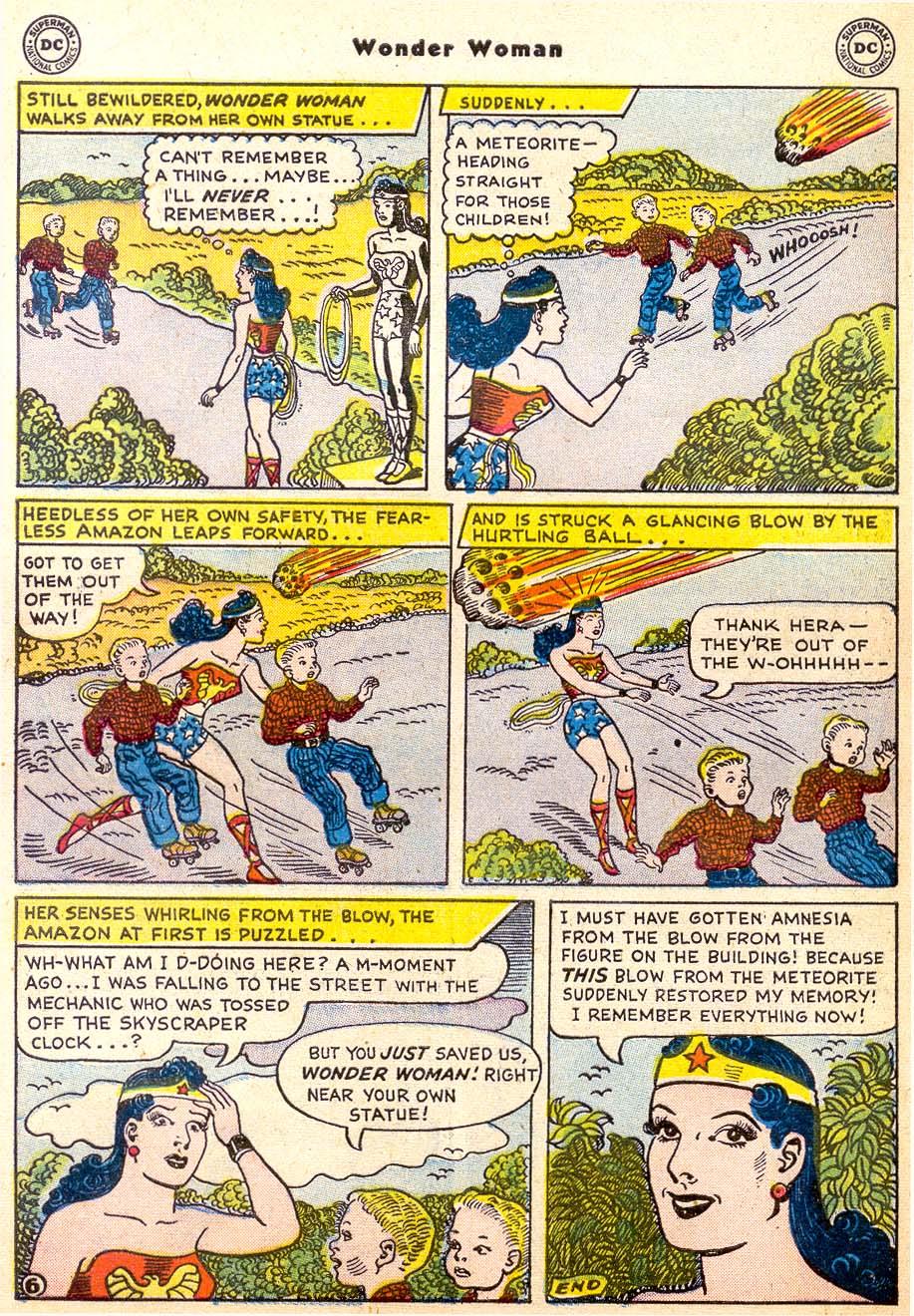 Read online Wonder Woman (1942) comic -  Issue #91 - 32