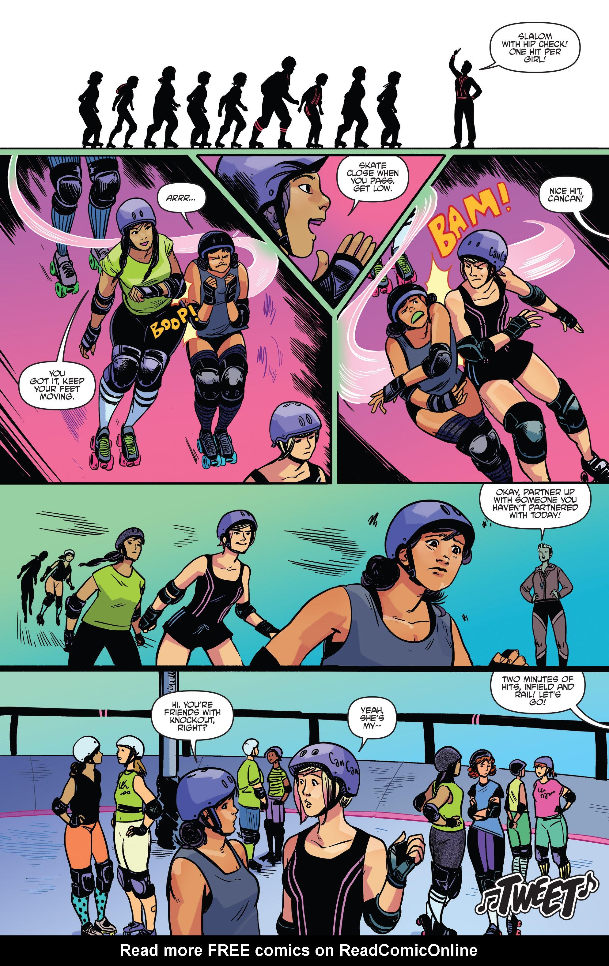 Read online Slam! comic -  Issue #3 - 22