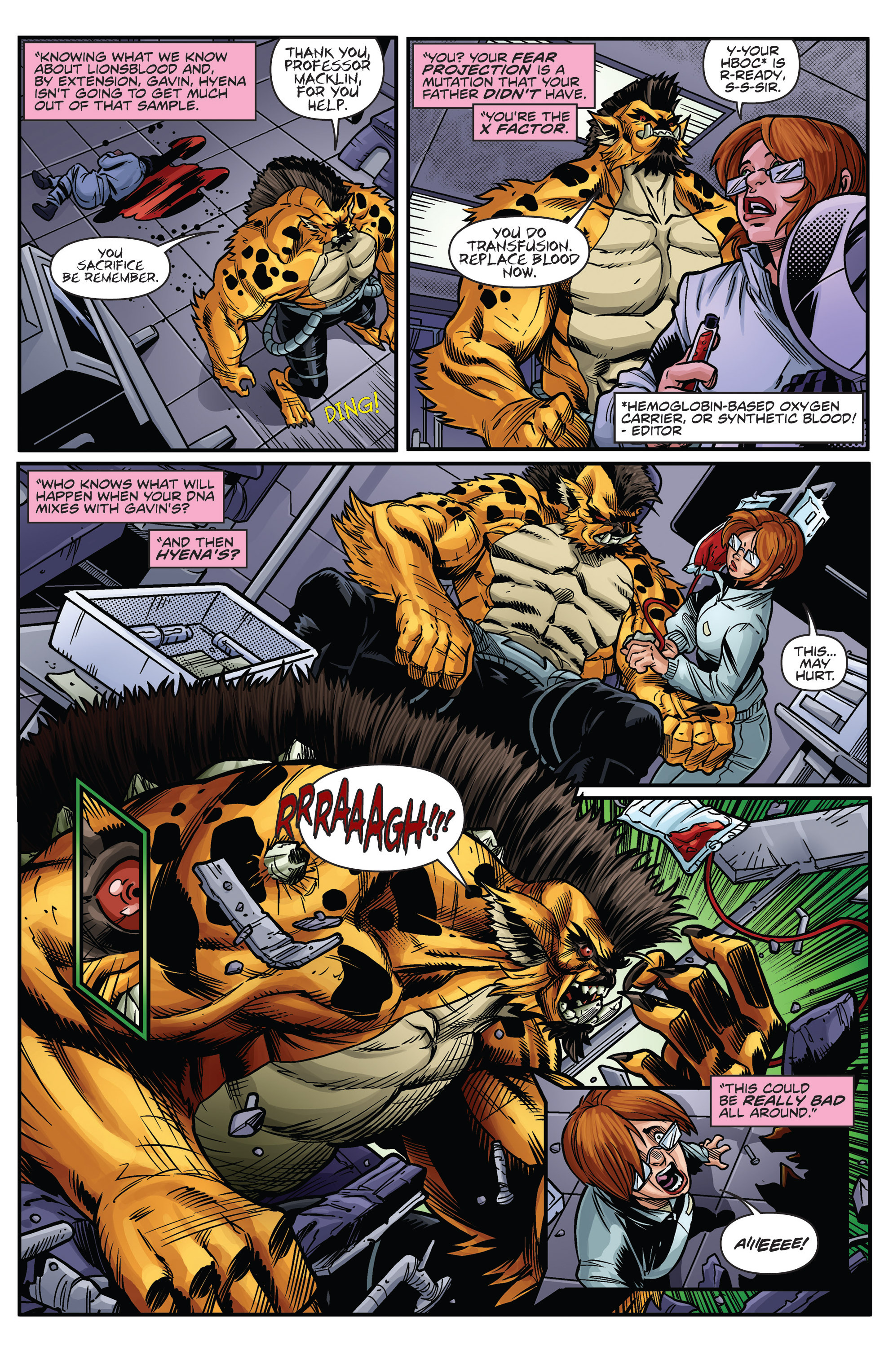 Read online Actionverse comic -  Issue #0 - 18