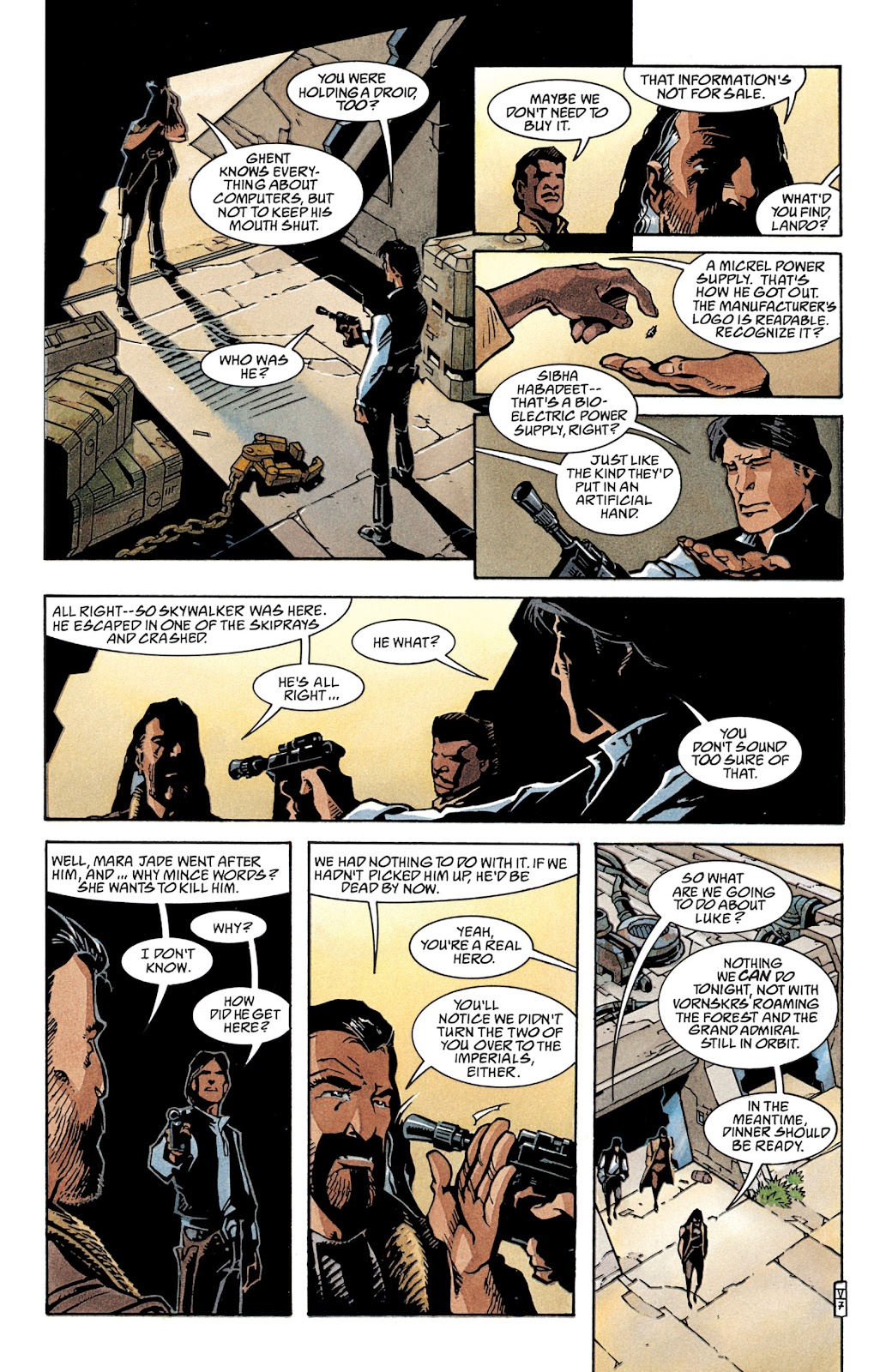 Read online Star Wars Legends: The New Republic - Epic Collection comic -  Issue # TPB 4 (Part 2) - 8