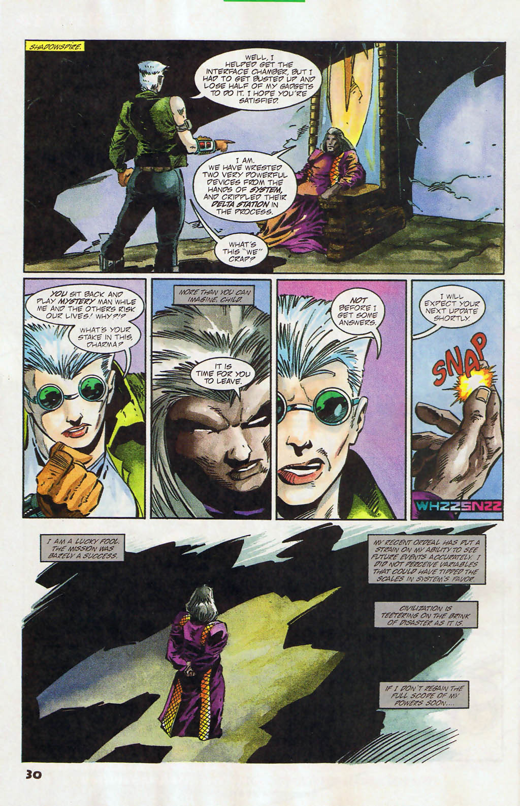 Read online Shadow Cabinet comic -  Issue #12 - 22